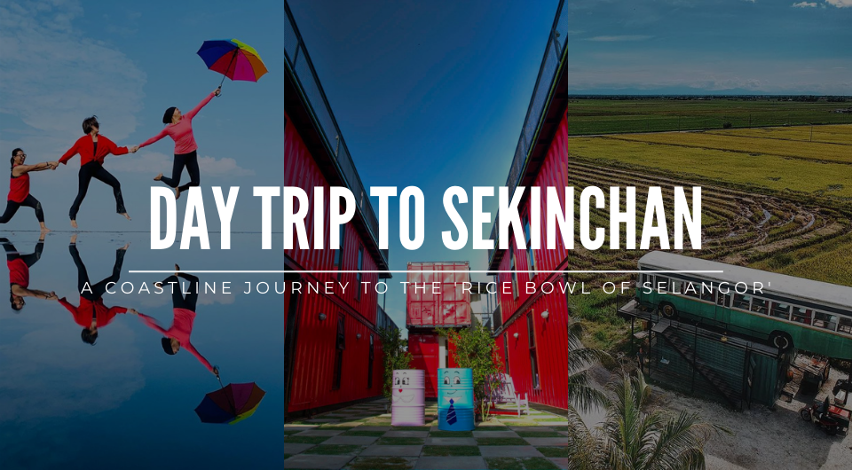 Sekinchan Trip: A Coastline Journey To The 'Rice Bowl of Selangor'
