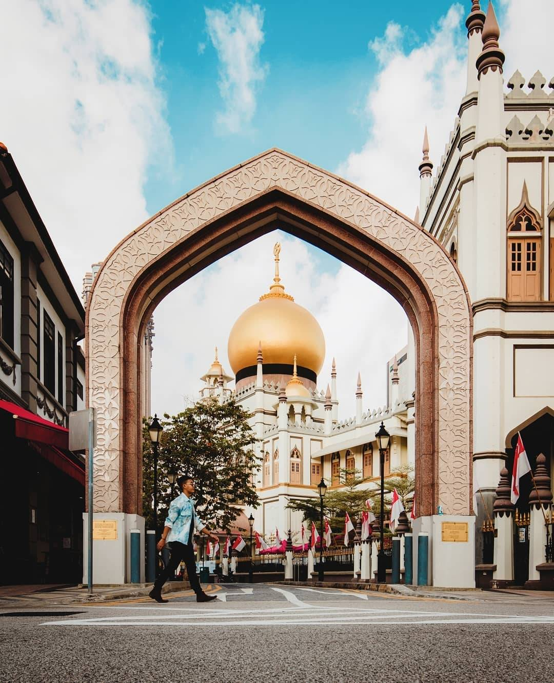Places to go in singapore to take photos: Masjid Sultan