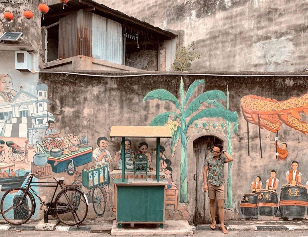 Muar Cultural Walk - Muar historic murals