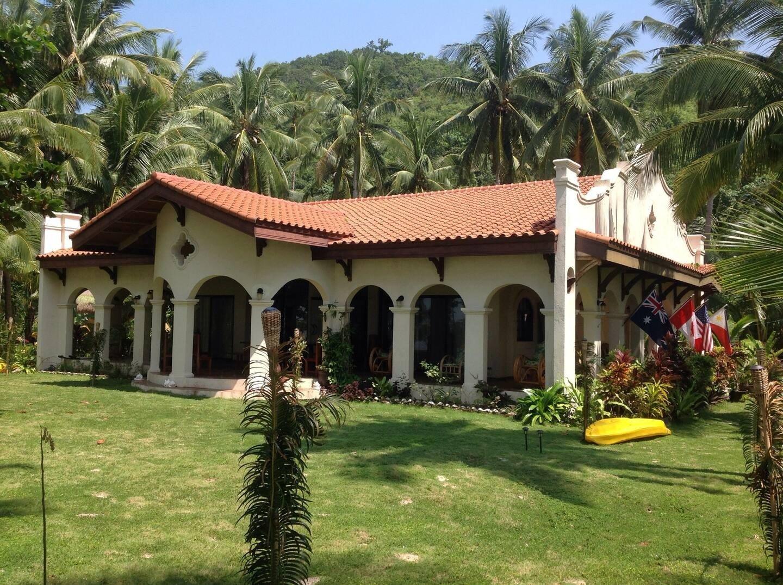 Spanish Style Beachfront House Philippines Airbnb