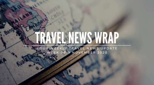 Travel News Wrap: 9 November Week