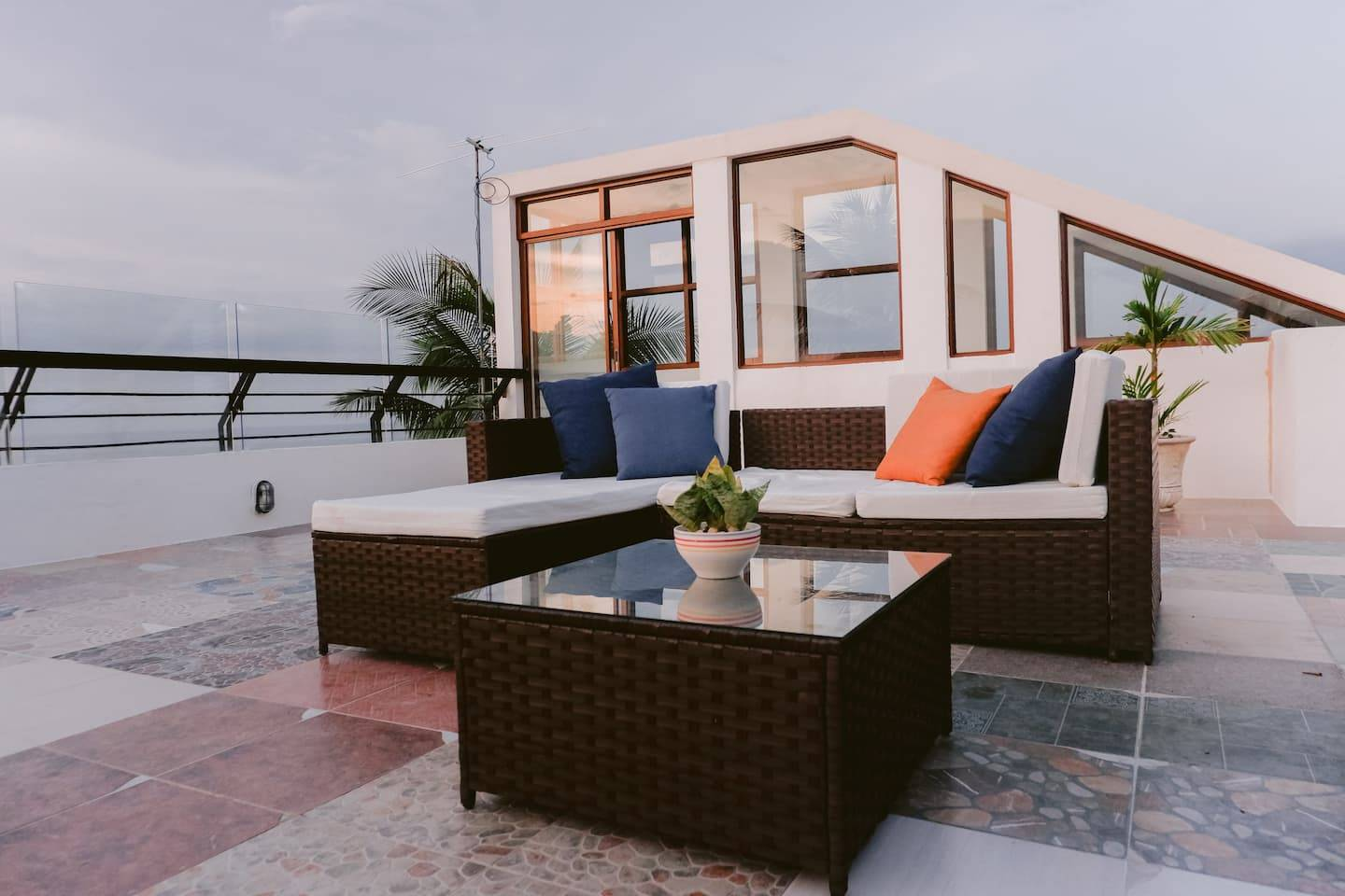 The Glass House - Beachfront Vacation Home Philippines Airbnb