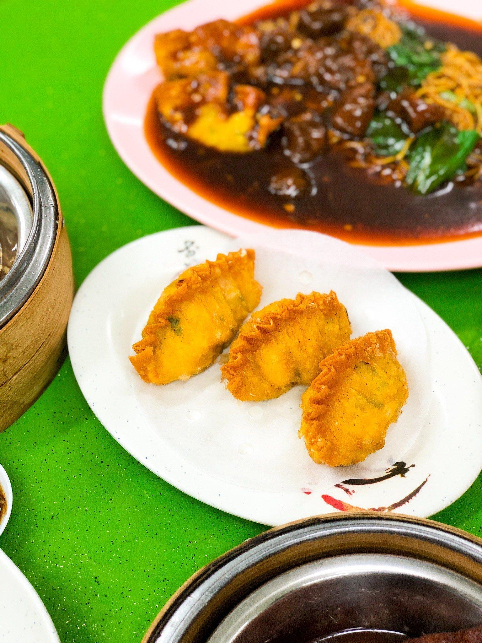 Tang Tea House deep fried shrimp dumplings