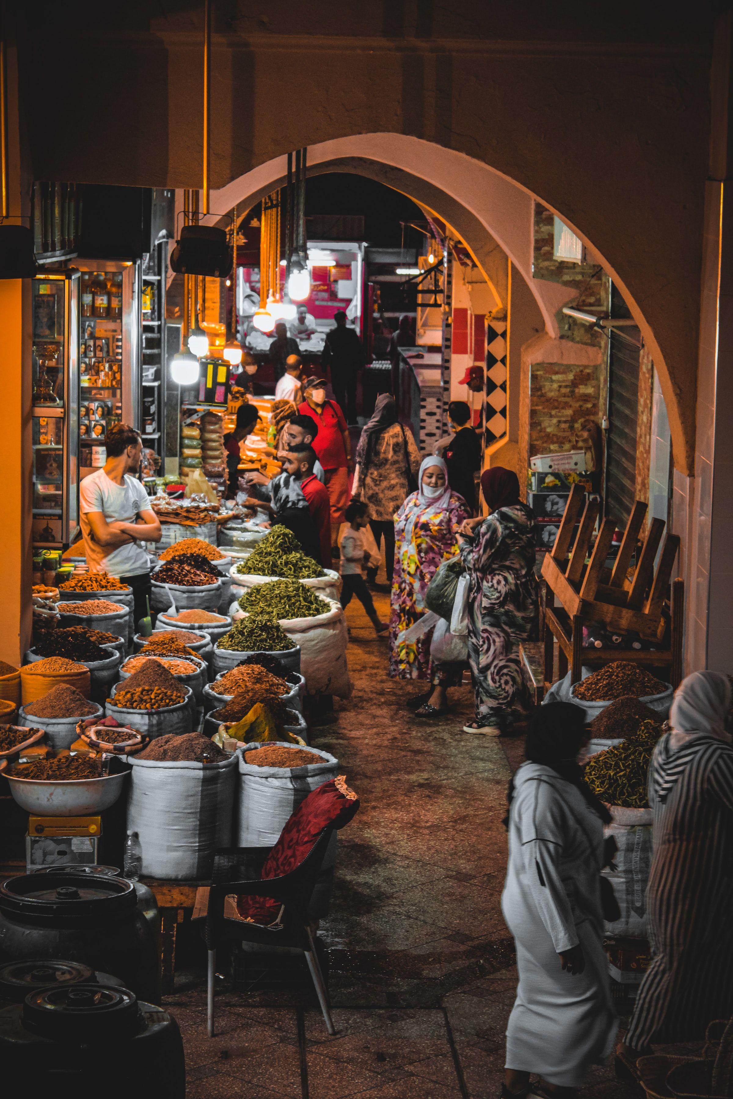 Souks Fez Morocco