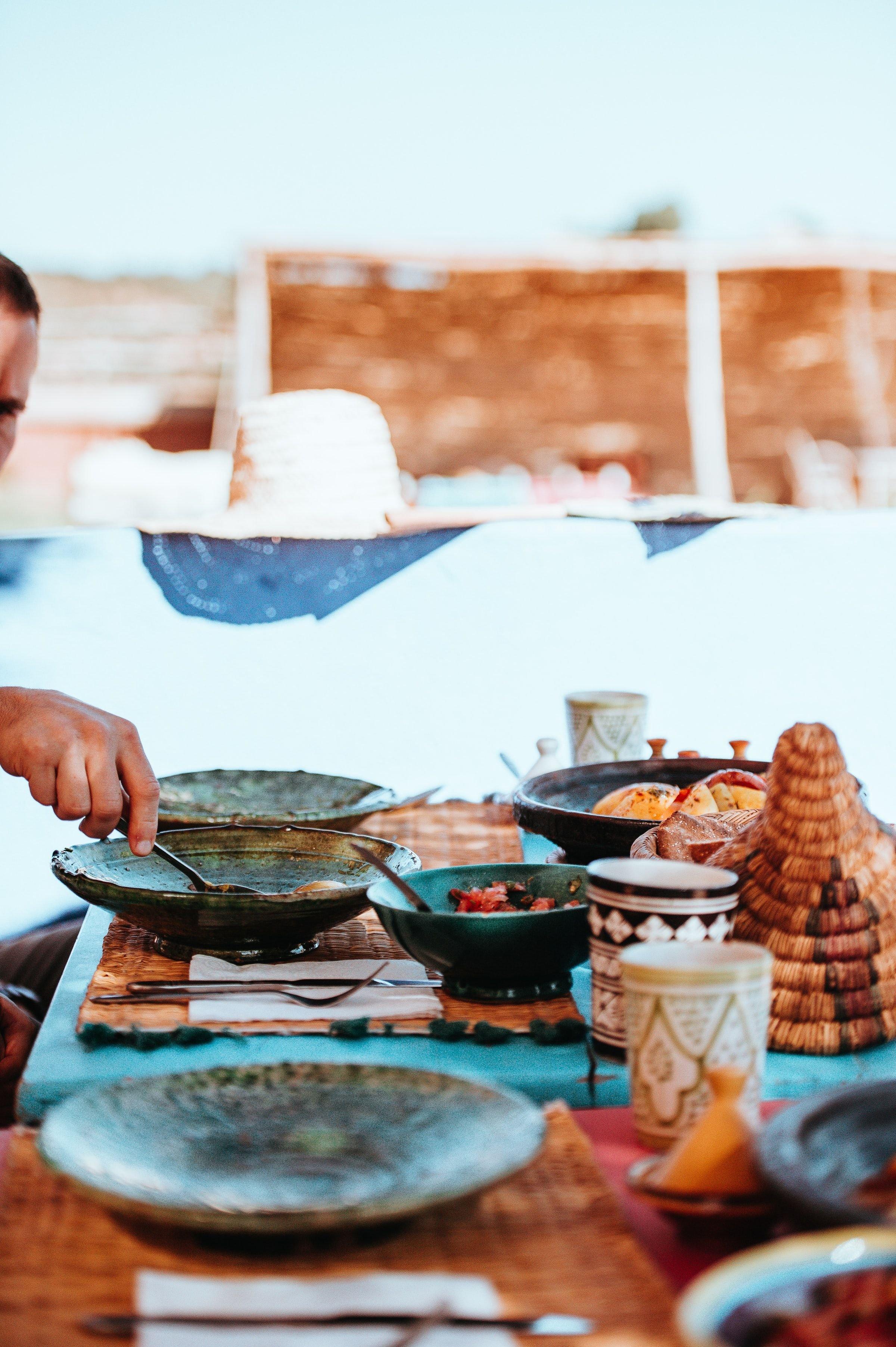 Fes Morocco Food