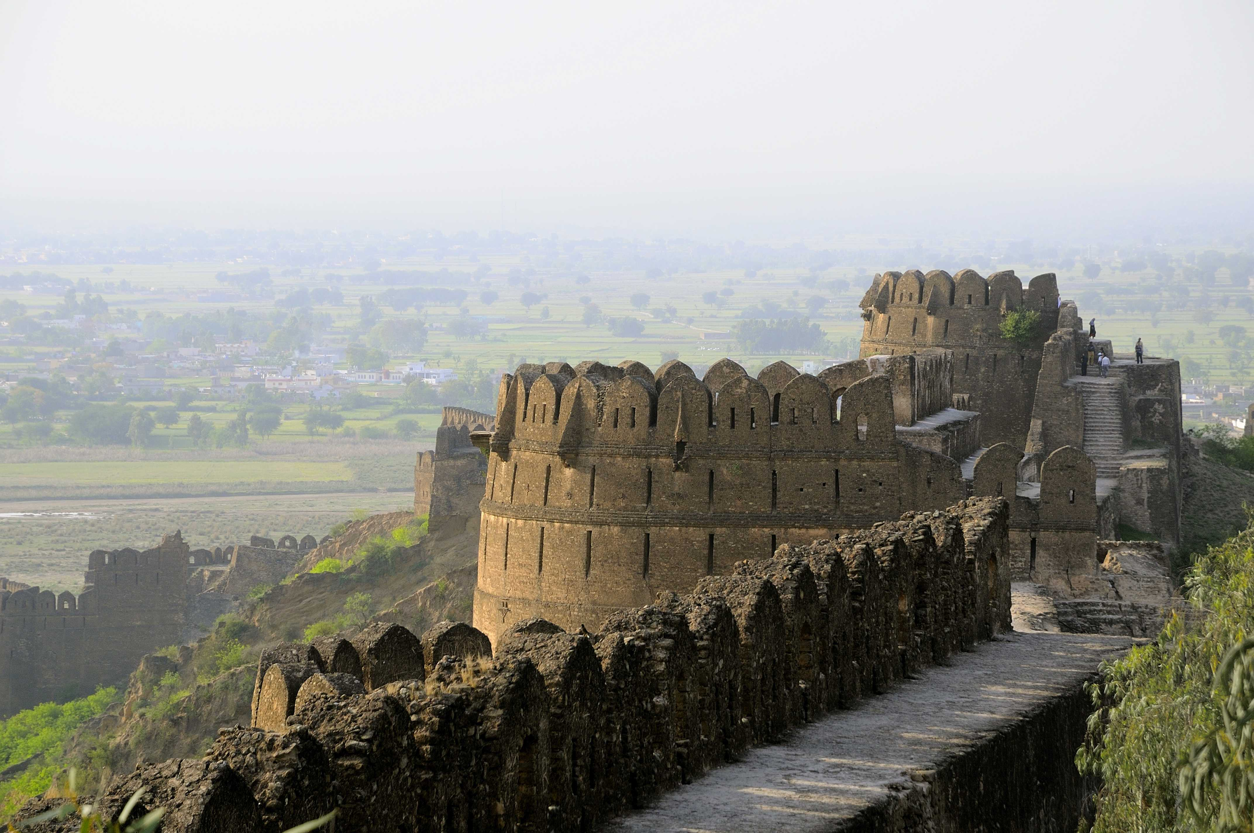Rohtas Fort Pakistan Historical Places Heritage