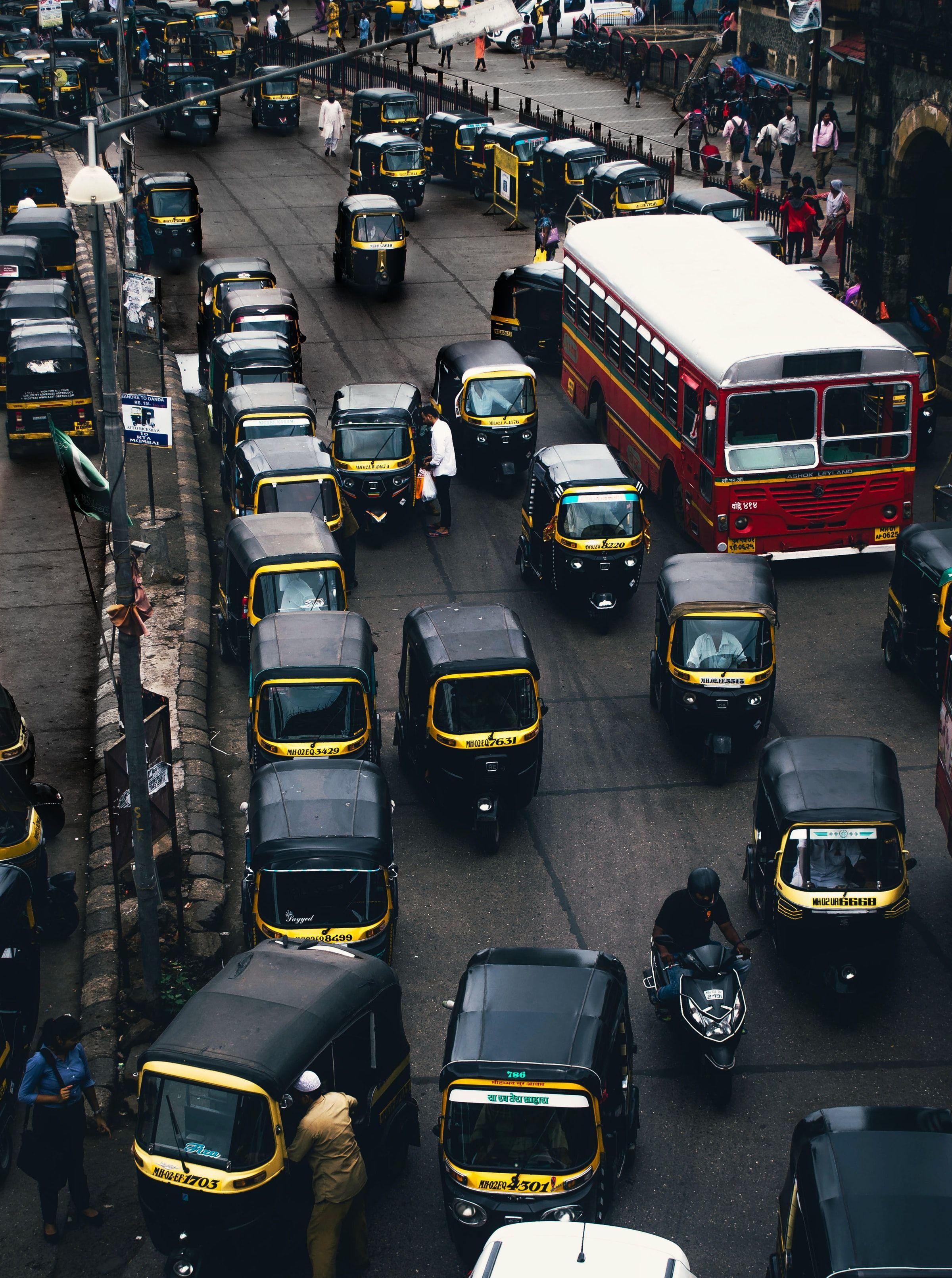 Mumbai India street