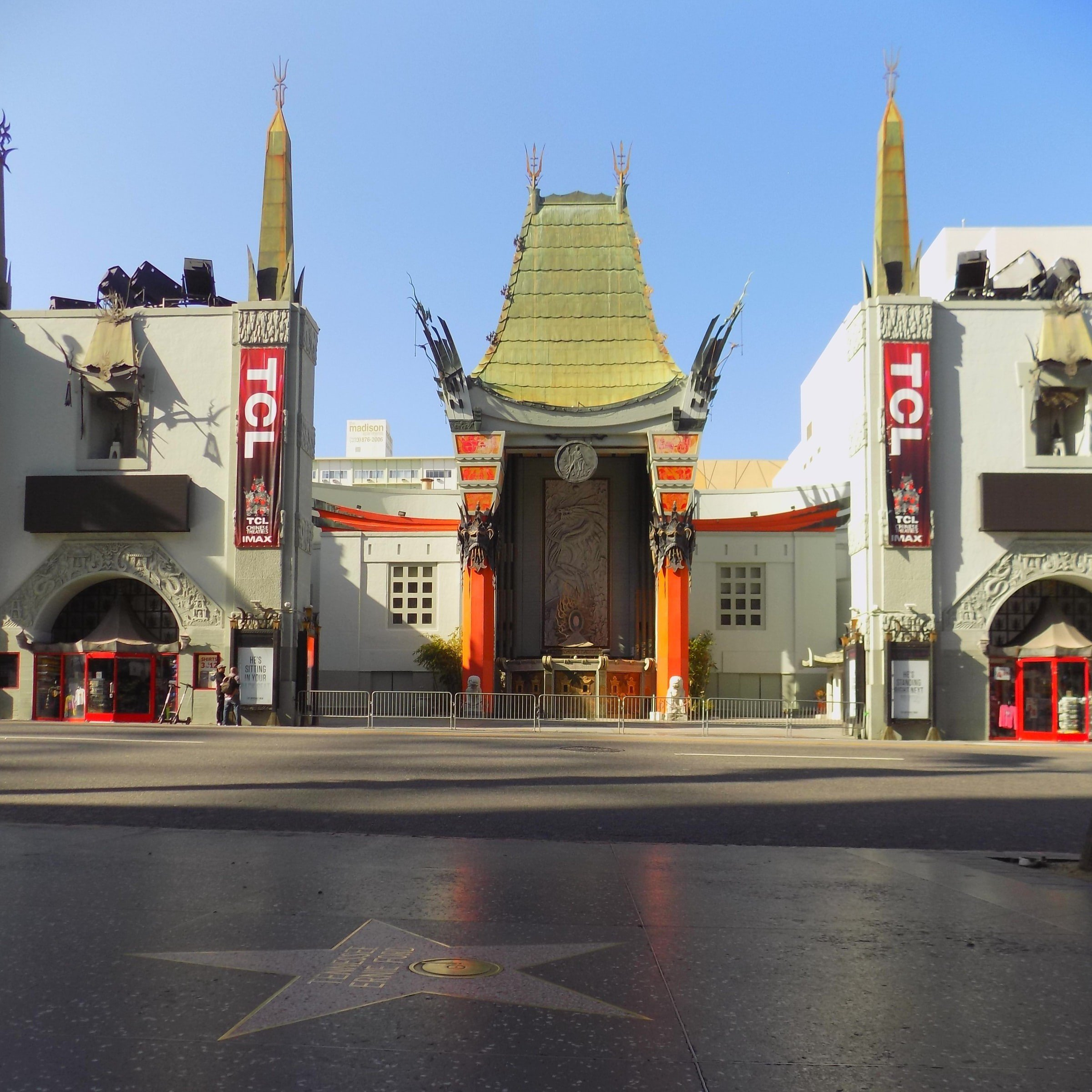 Chinese Theatre Hollywood Boulevard California USA