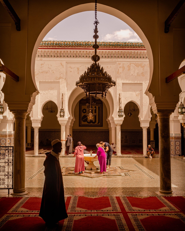 al-Qarawiyyine mosque UNESCO Fez Morocco
