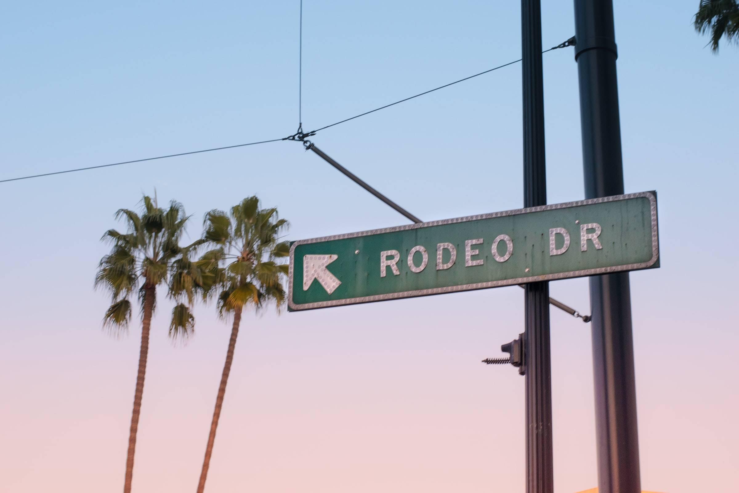 Rodeo Drive Los Angeles California USA