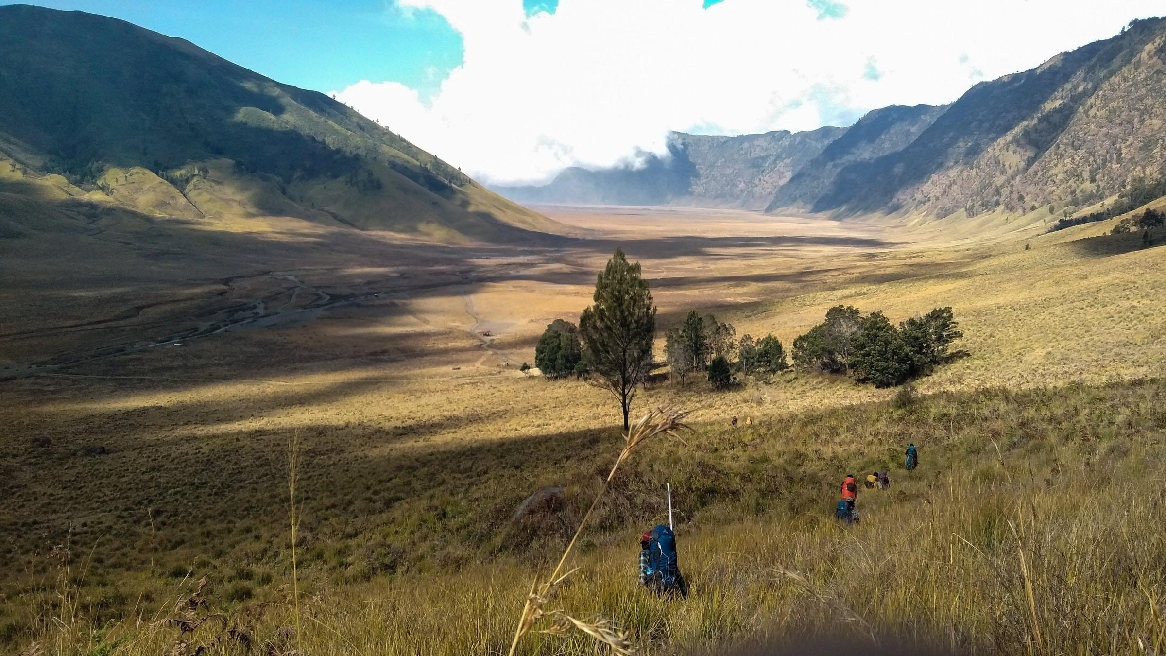 Gunung Semeru Mahameru Indonesia