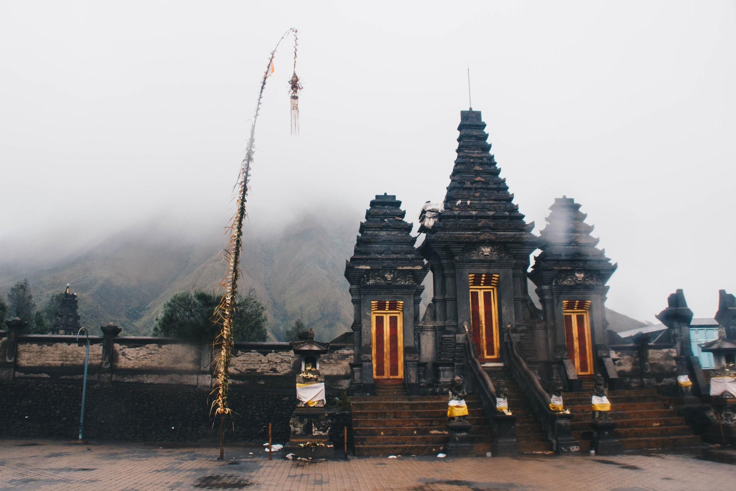 Gunung Bromo Adat Kasodo Hindu Indonesia