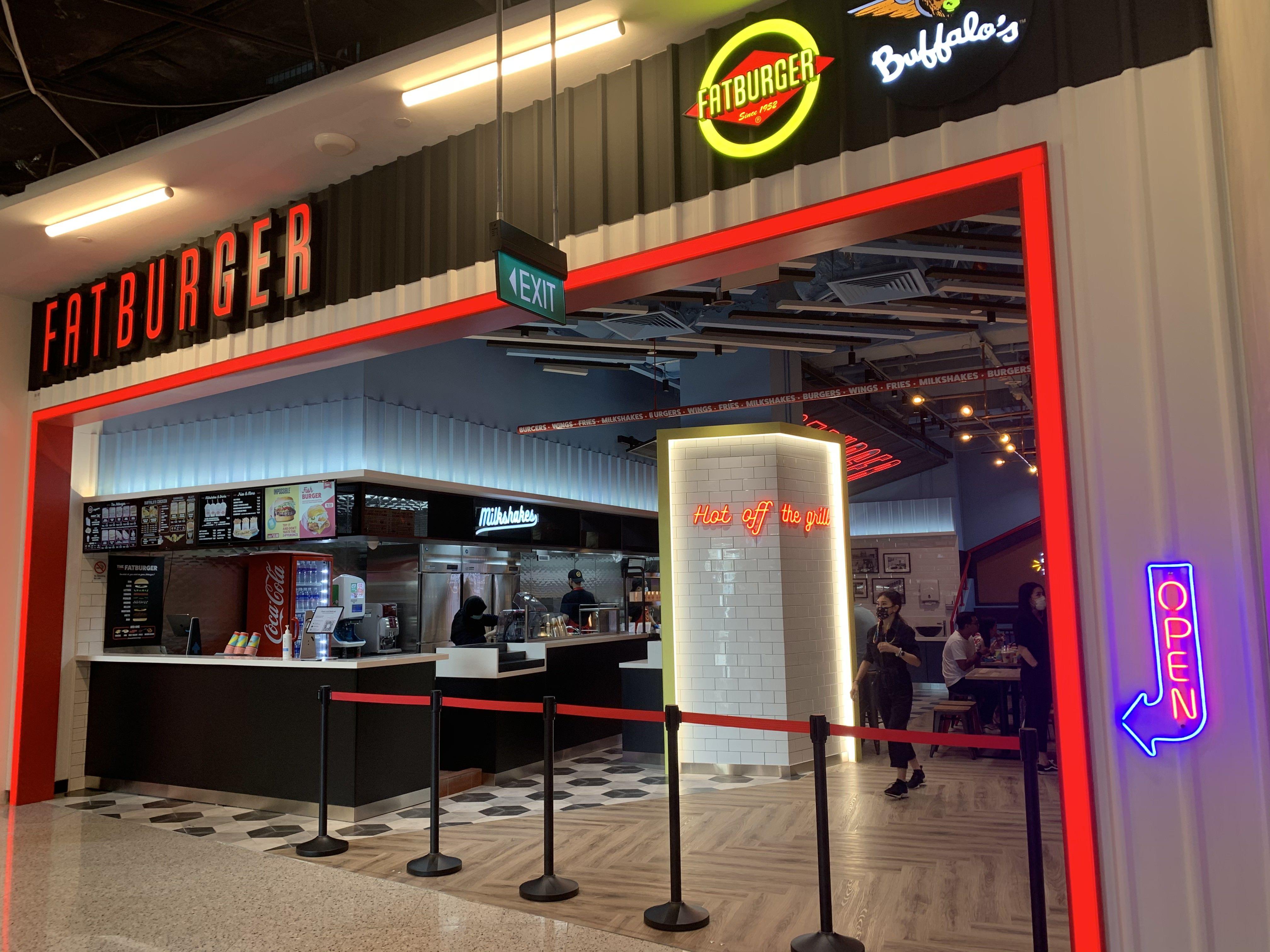 Fatburgers flagship store Cineleisure Orchard