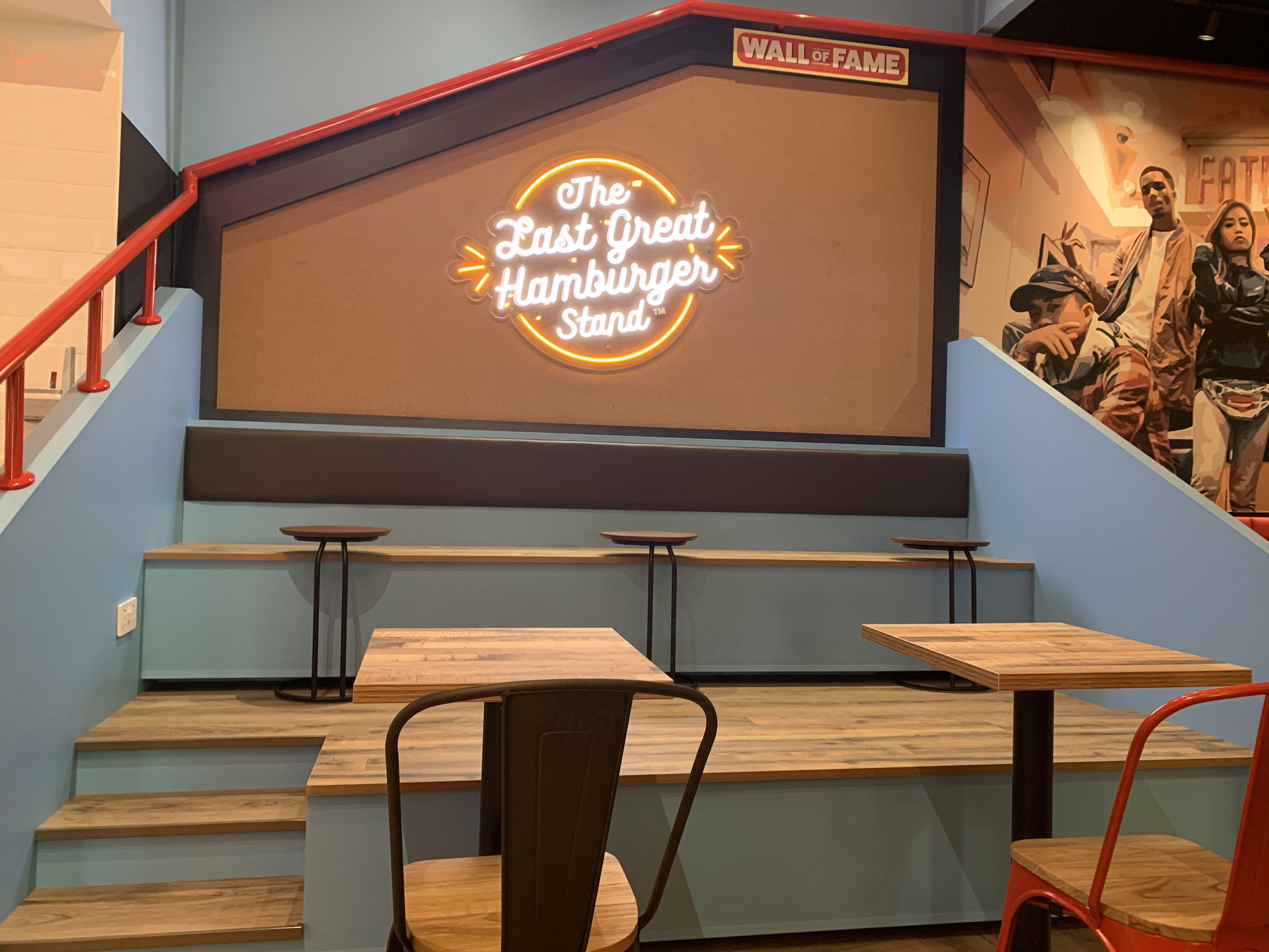 Fatburgers Wall of Fame Cineleisure Orchard Flagship store