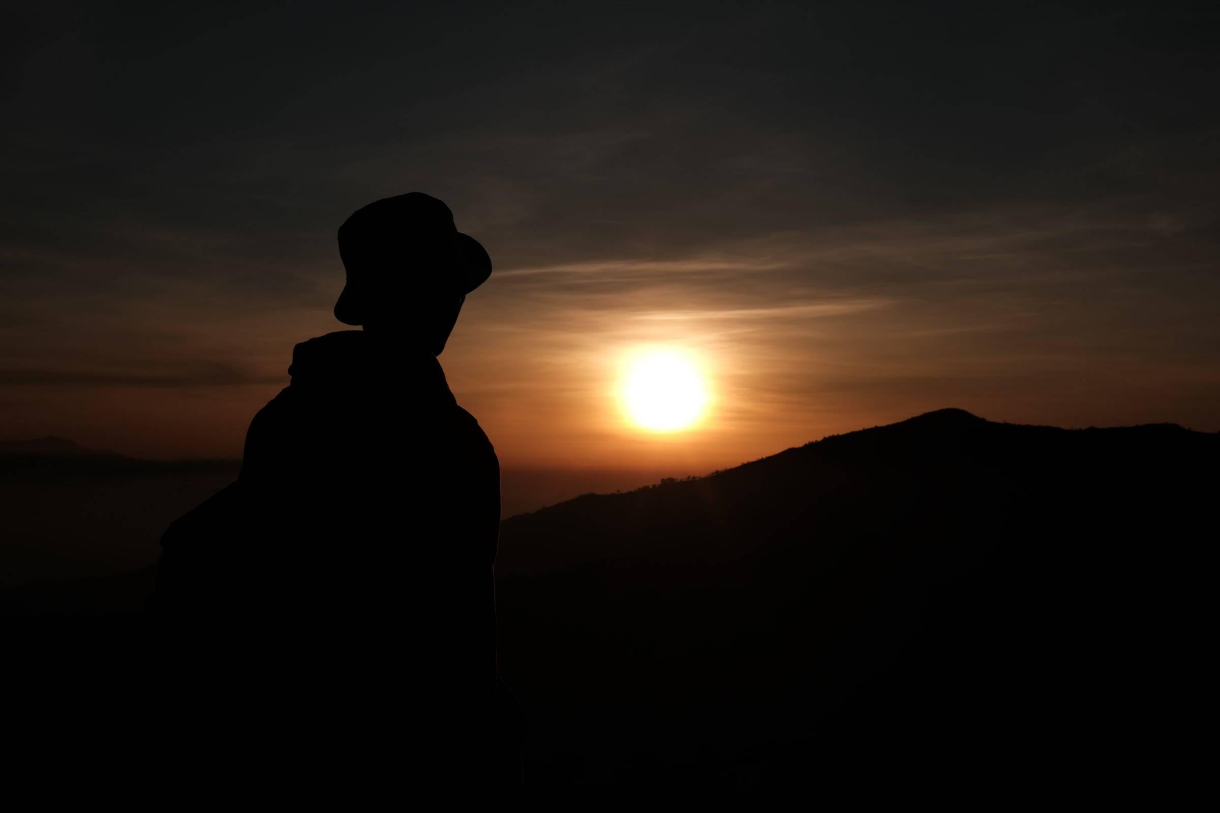Gunung Bromo Sunrise Matahari terbit Indonesia