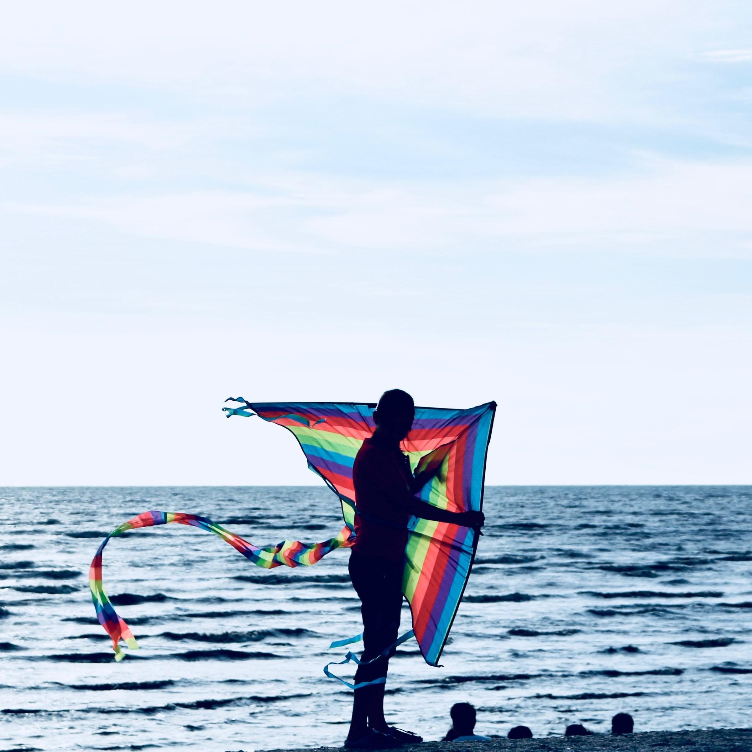 Kite flying Redang Beach Sekinchan Malaysia