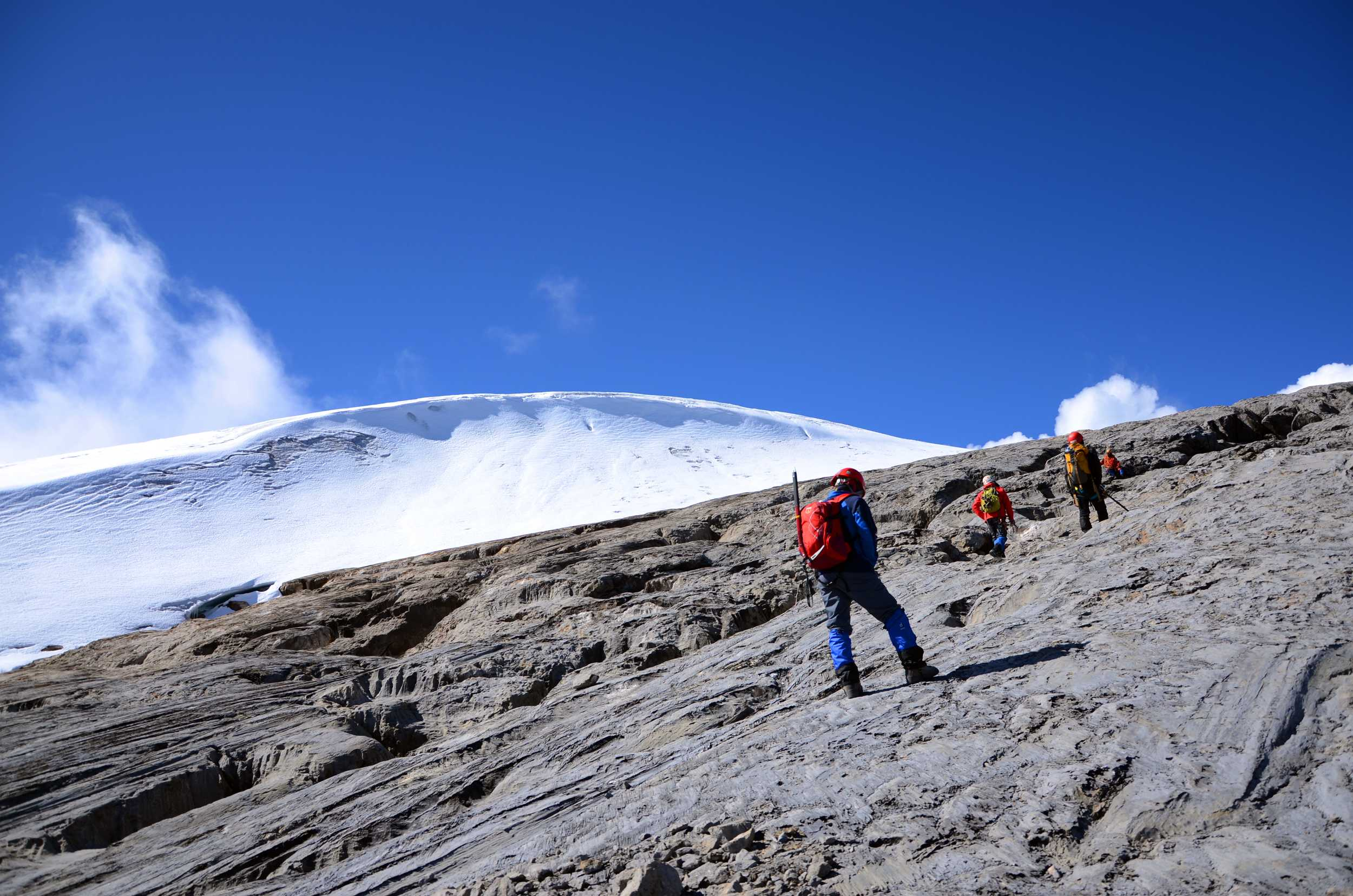 Gunung Jayawijaya Sudirman Range Indonesia