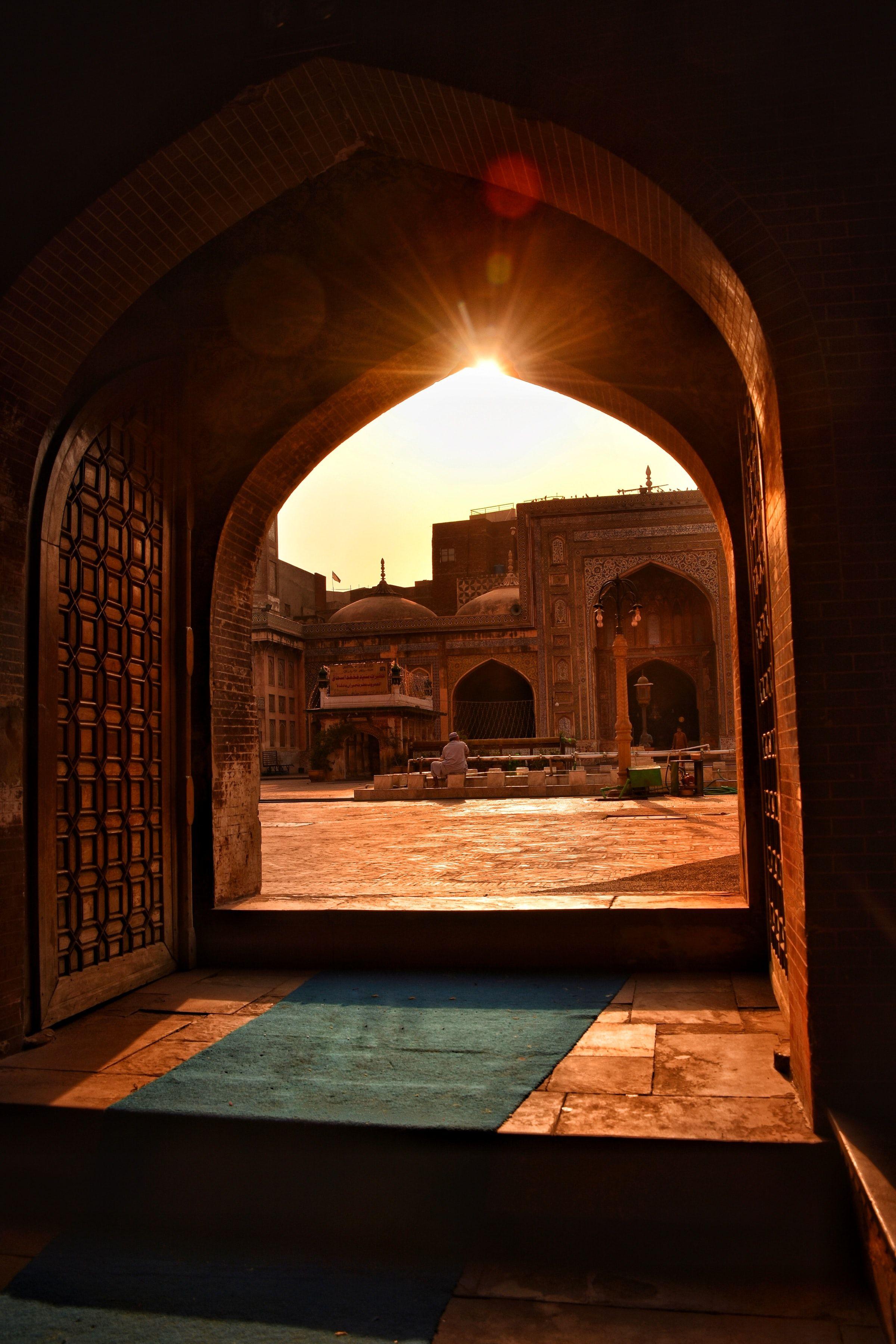 Wazir Khan Mosque Pakistan Historical Places Heritage