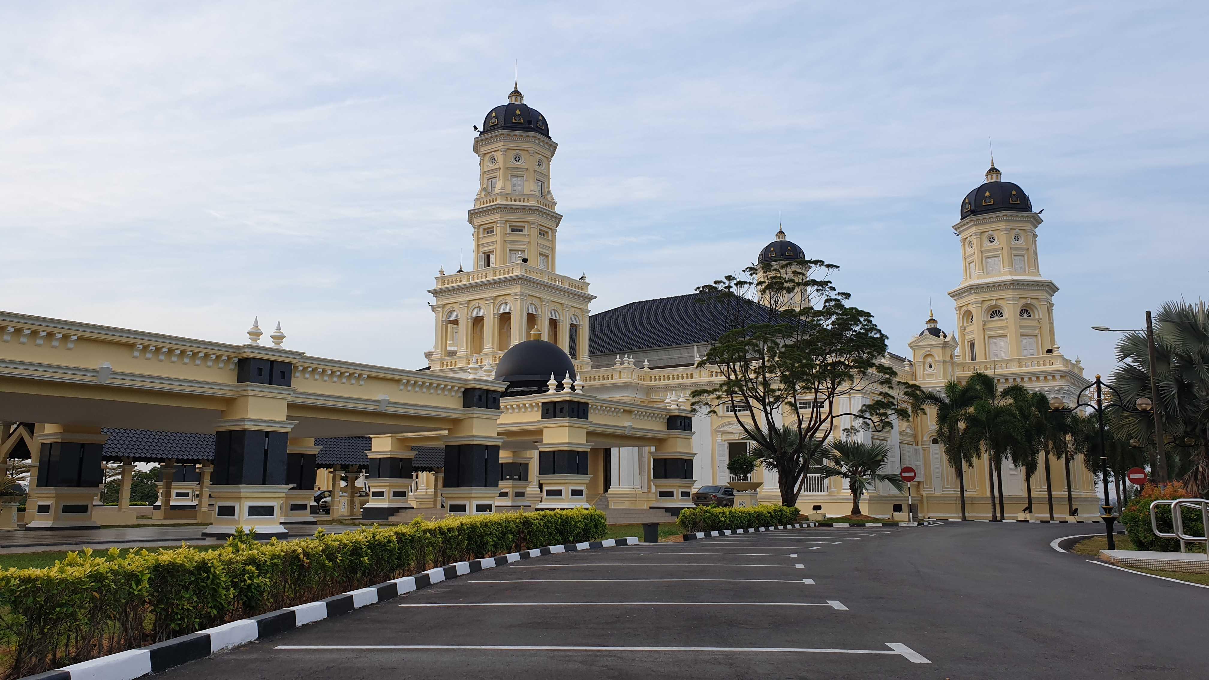 Sultan Abu Bakar Mosque Johor Bahru