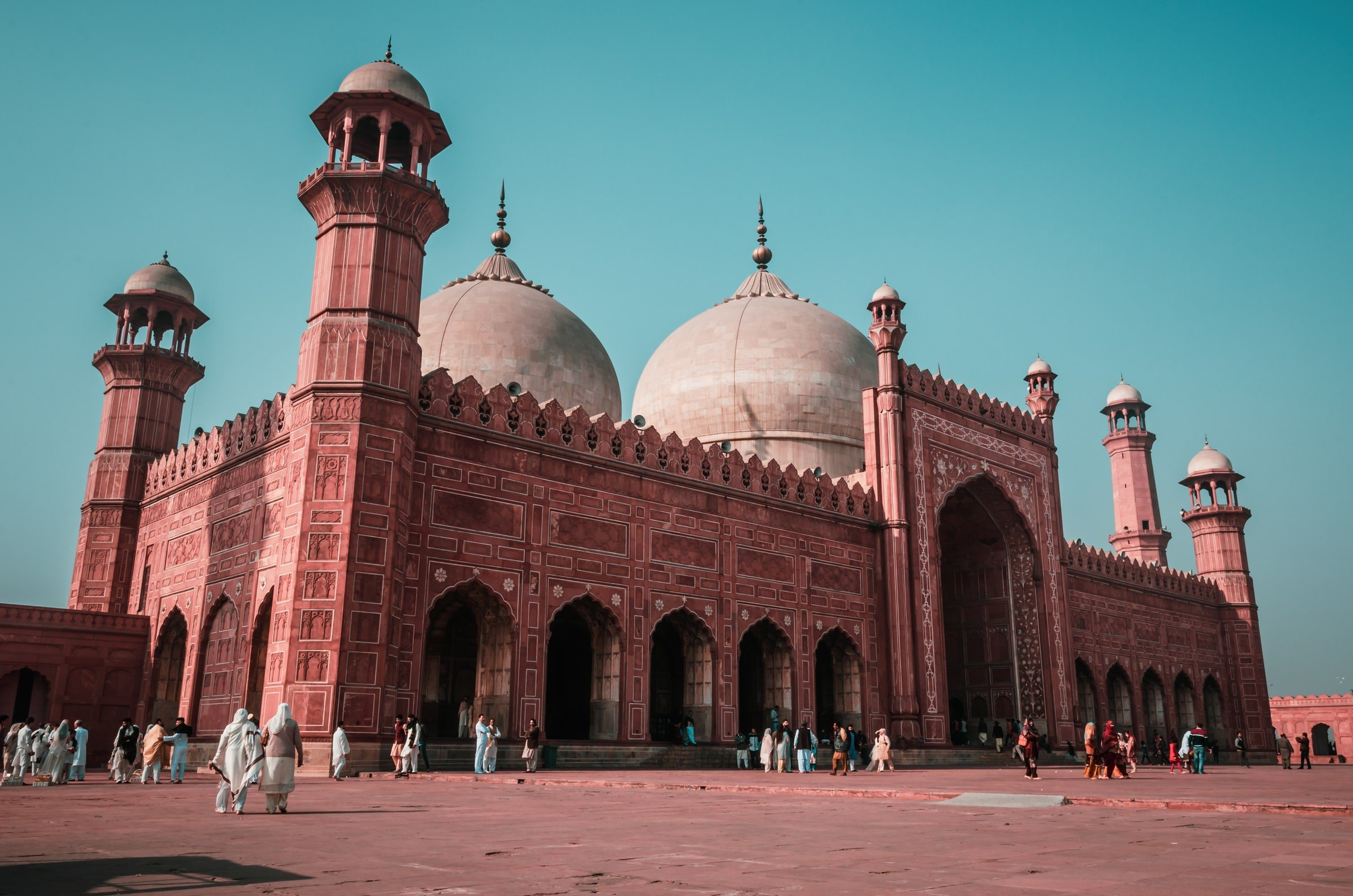 Badshahi Mosque Pakistan Historical Places Heritage
