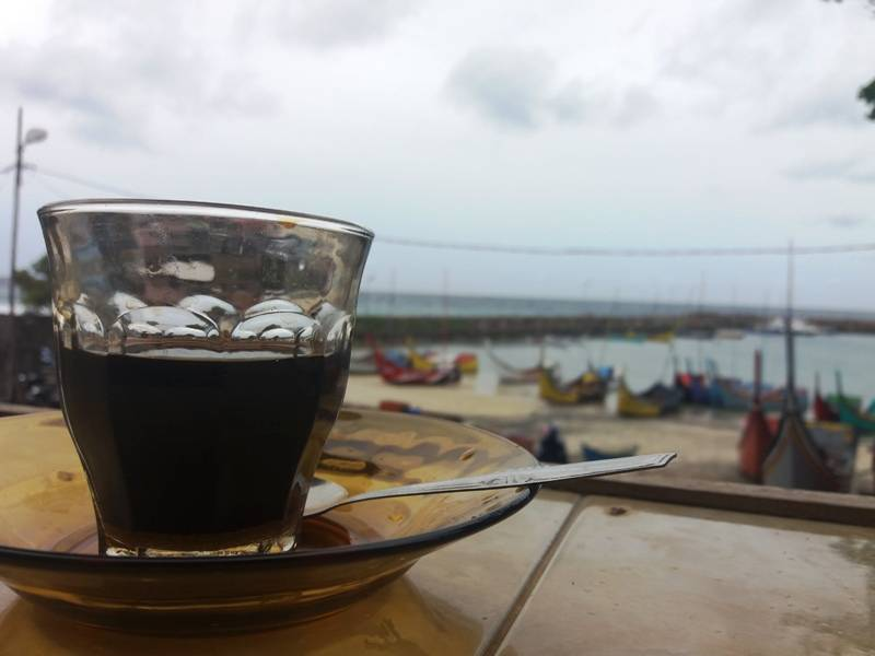 Kedai Kopi Pantai Jaya Pulau Weh Sabang Aceh Indonesia