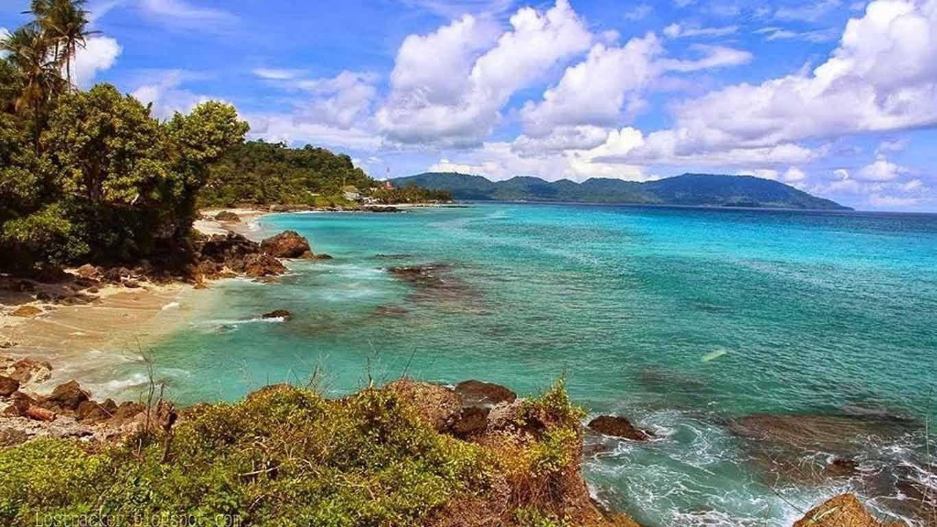 Pantai Tapak Gajah Pulau Weh Sabang Aceh Indonesia