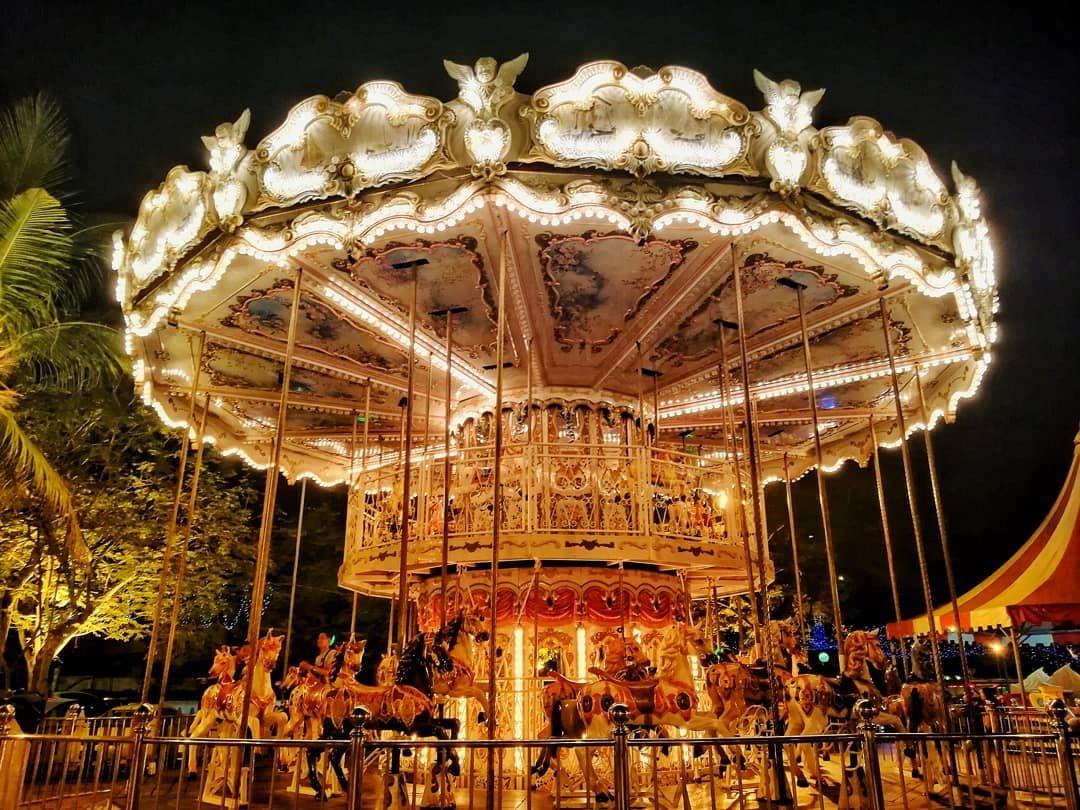 Danga World Theme Park Ferris Wheel Johor
