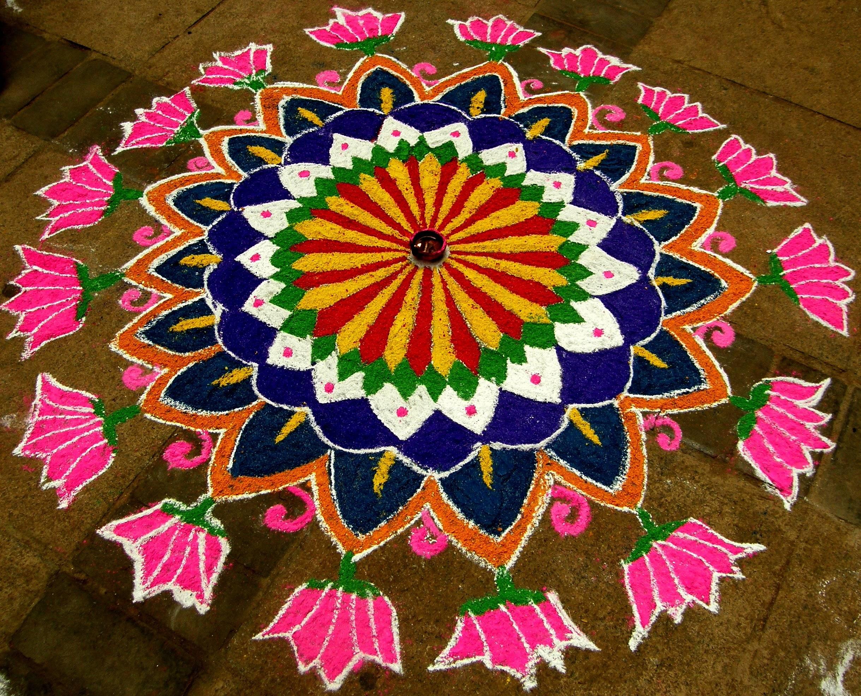 Rangoli - Deepavali
