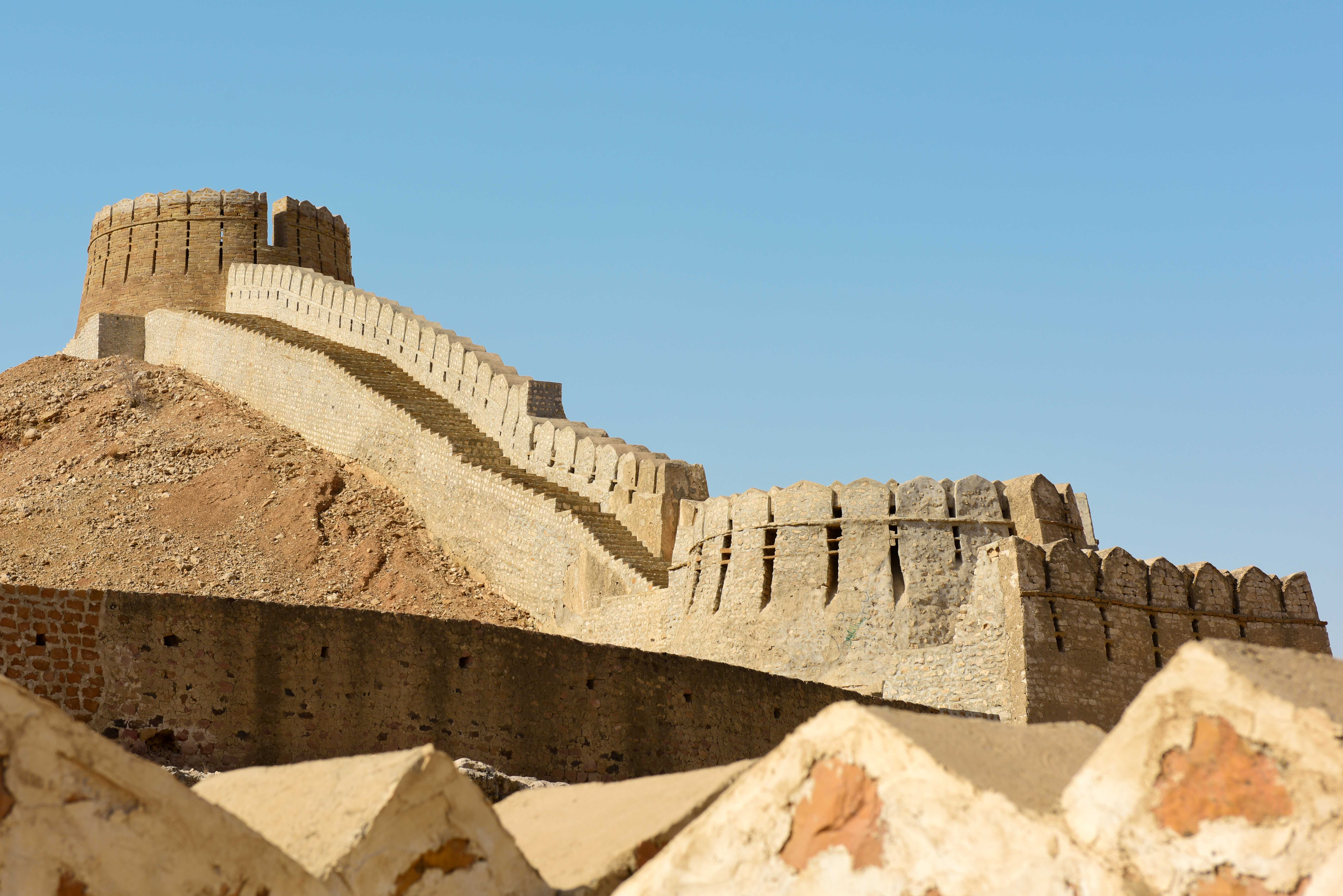 Ranikot Fort Pakistan Historical Places Heritage