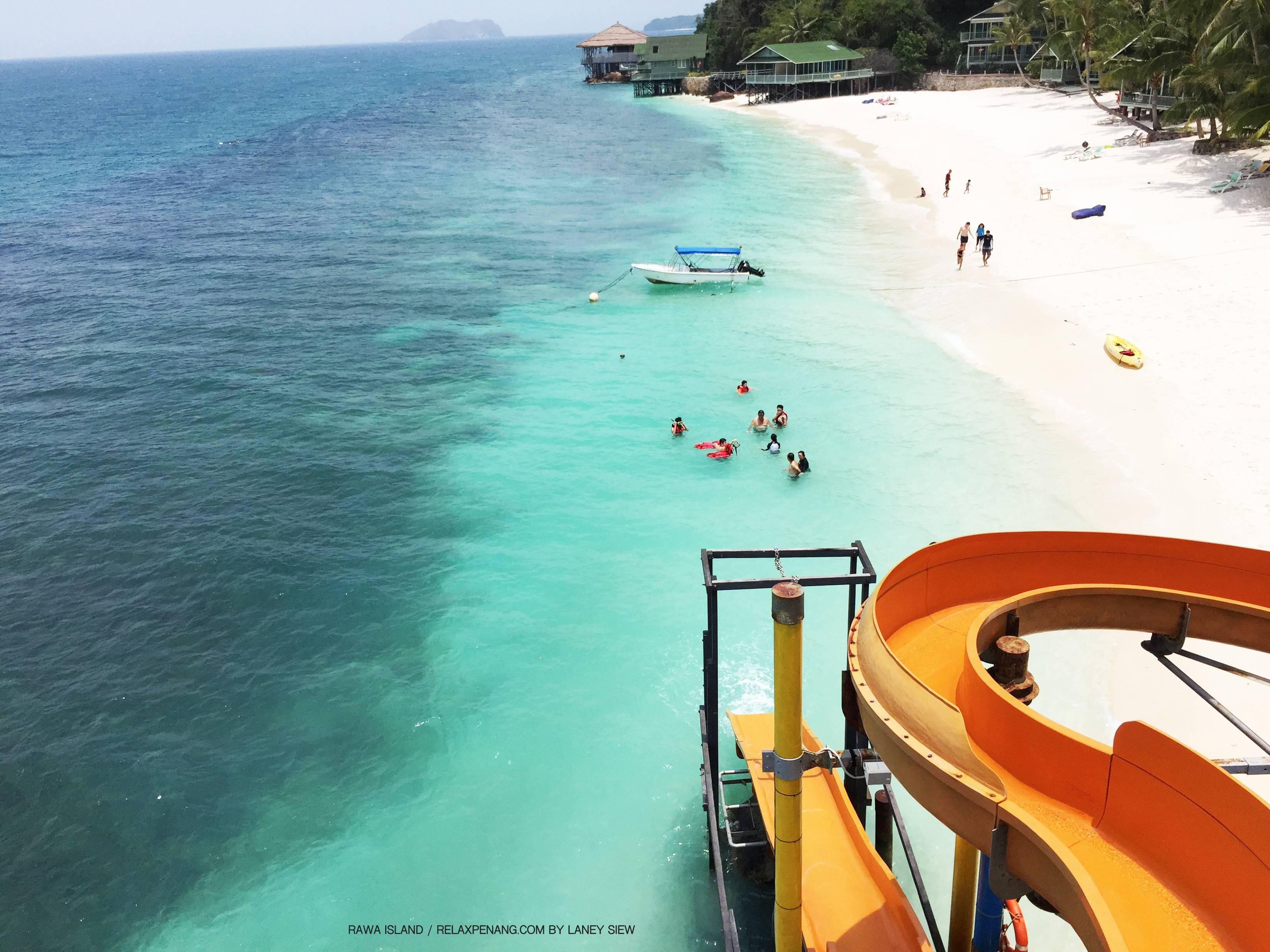 Rawa Island Johor Bahru Water Slide