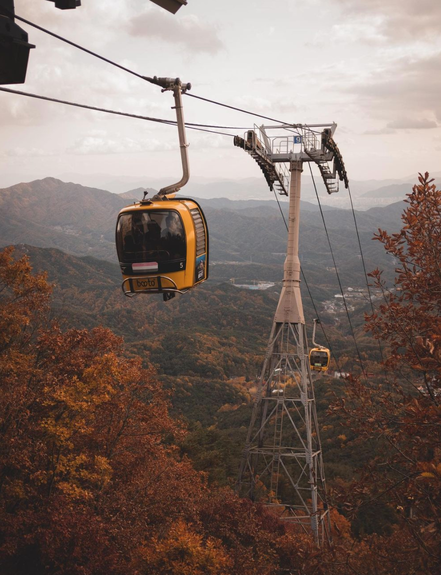 what to do in korea, daegu, palgong mountain