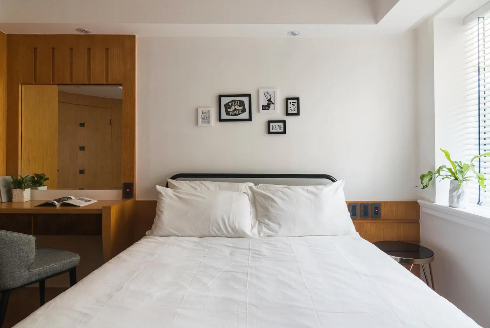 beautiful airbnb to stay in taipei, taiwan
