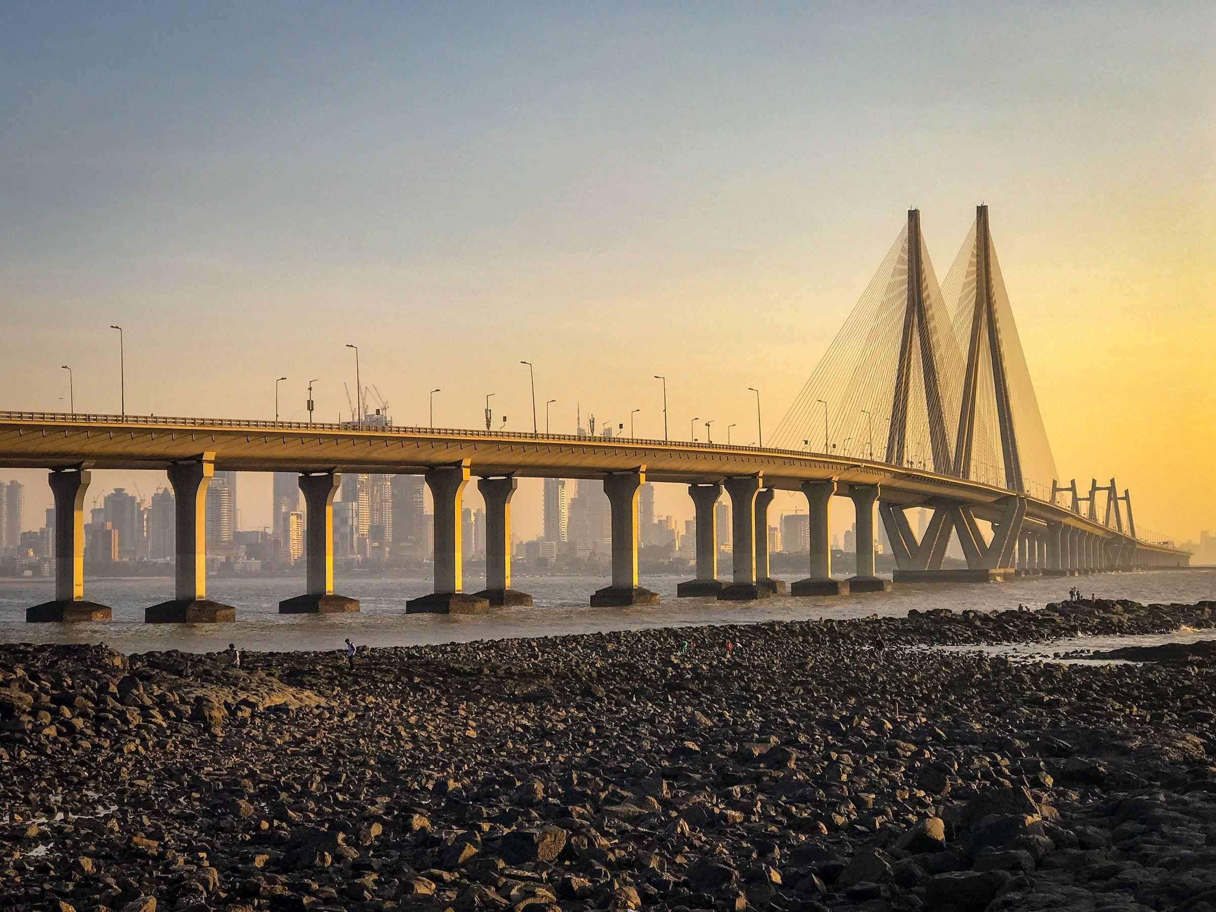 Bandra Worli Sea Link Mumbai India