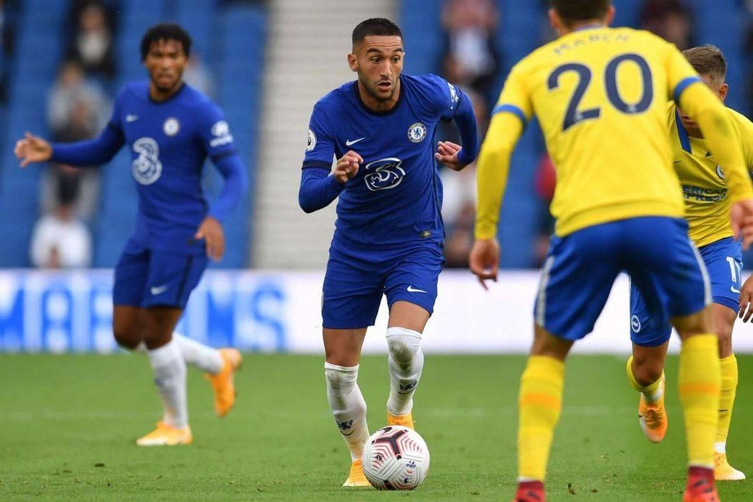 Hakim Ziyech Chelsea Morocco