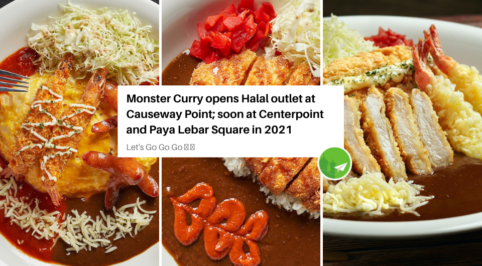 Monster Curry Opens First Halal Outlet Named Monster Planet – Causeway Point