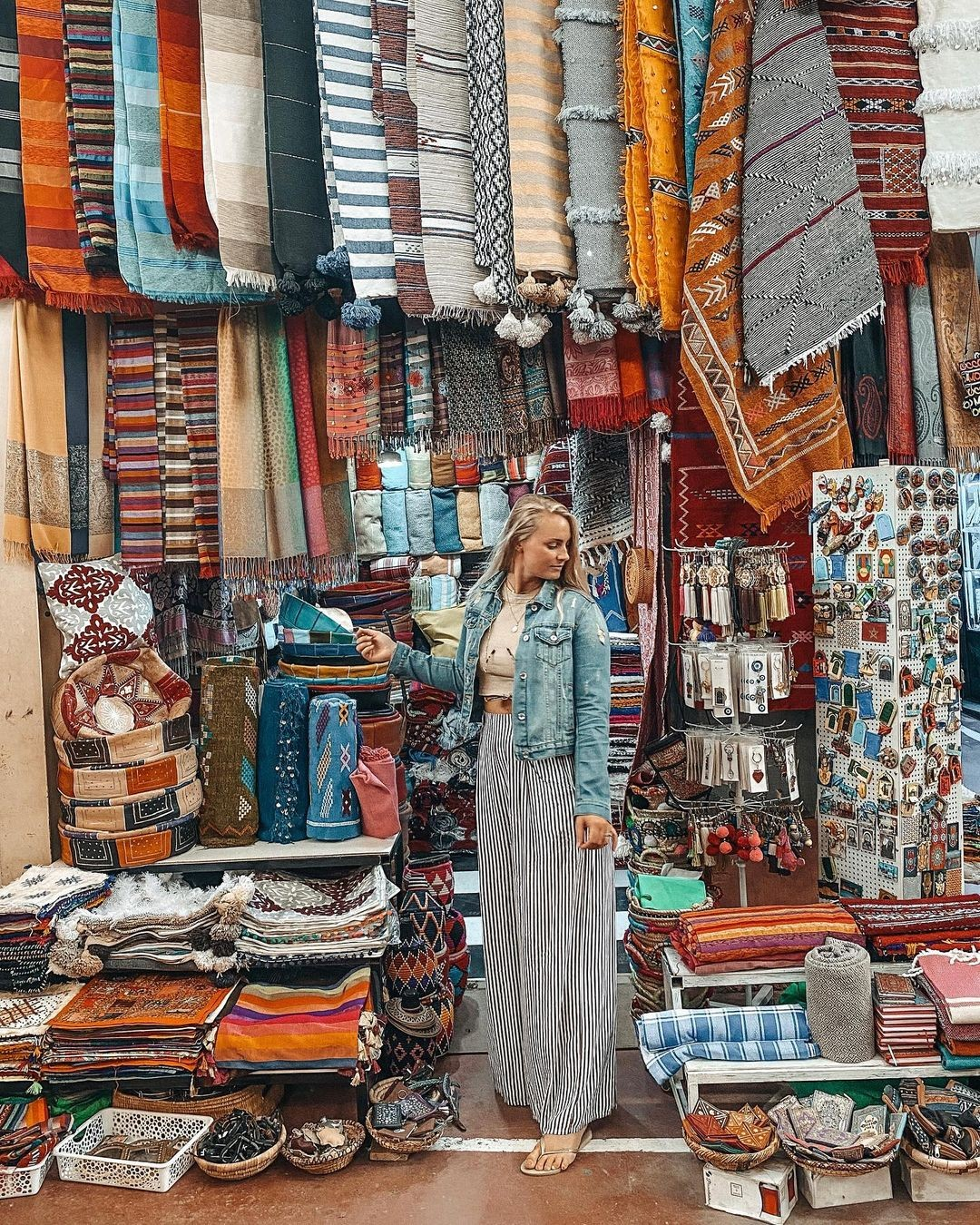 Souk El Had Agadir Morocco