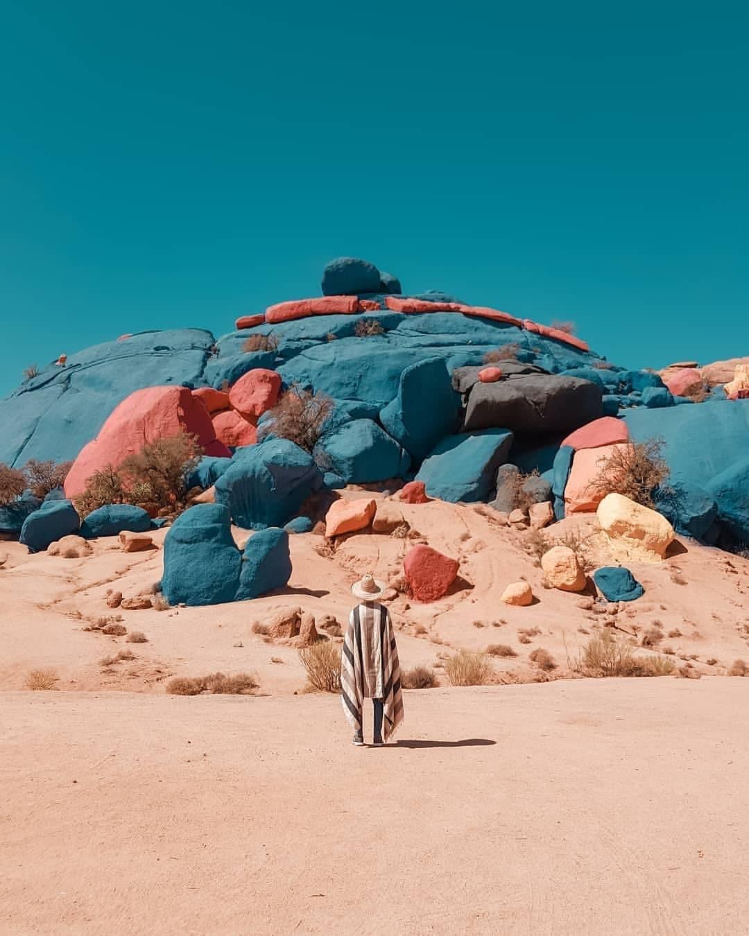 Les Roches Bleues, The Blue Rocks Agadir Morocco