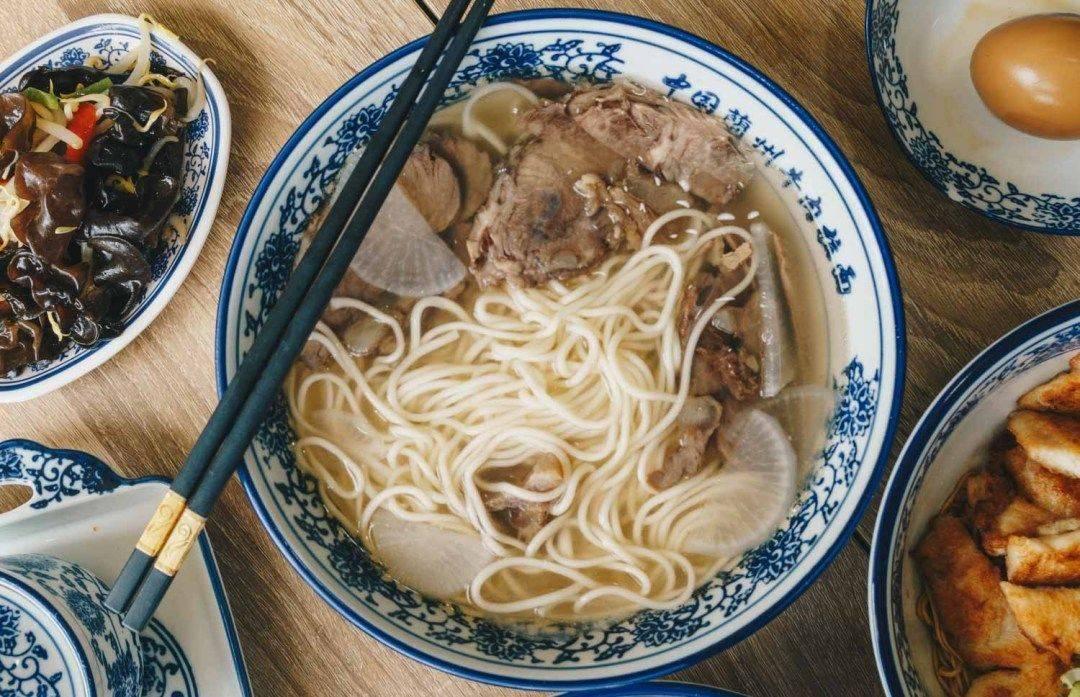 Tongue Tip Lanzhou Beef Noodle Halal Beef Noodle