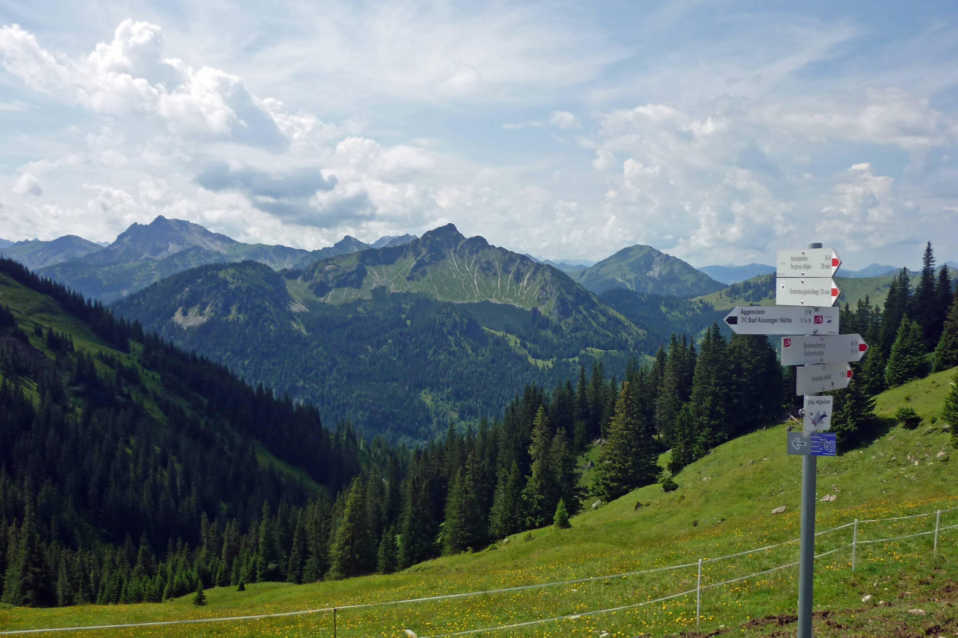 Via Alpina Switzerland