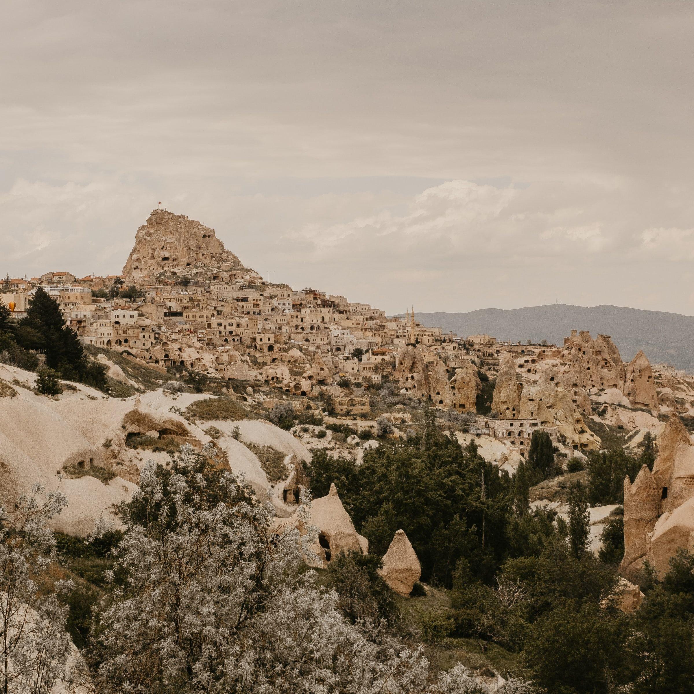 Uçhisar Kale Kapadokya Turkiye