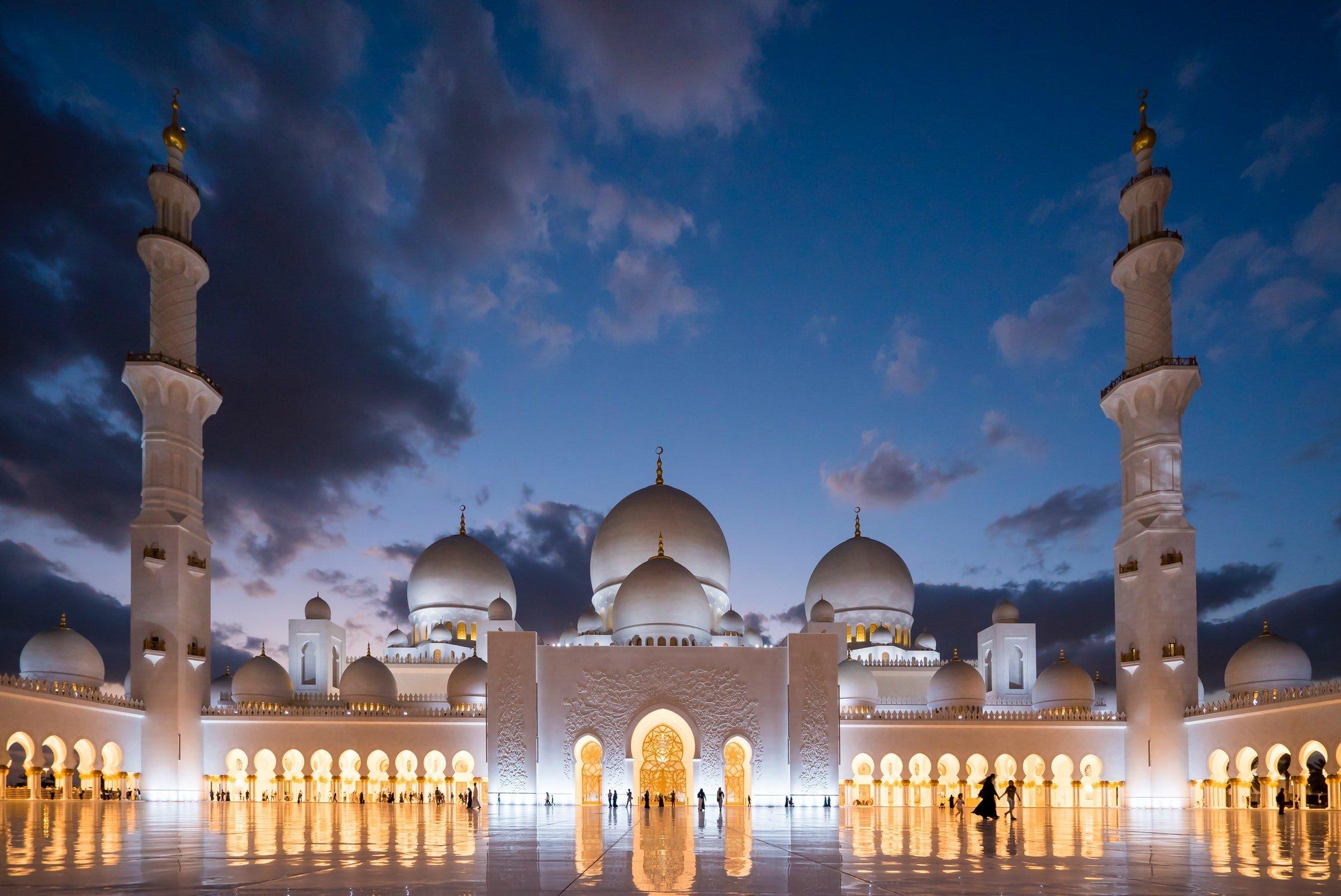 Sheikh Zayed Grand Mosque United Arab Emirates