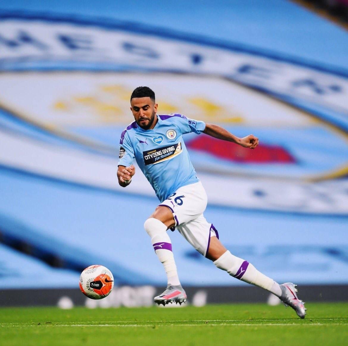 Riyad Mahrez Manchester City Algeria