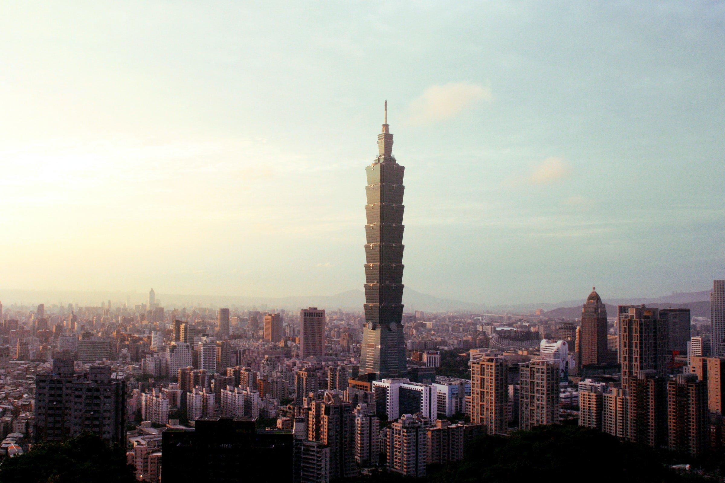 Taipei 101 Taiwan Borders