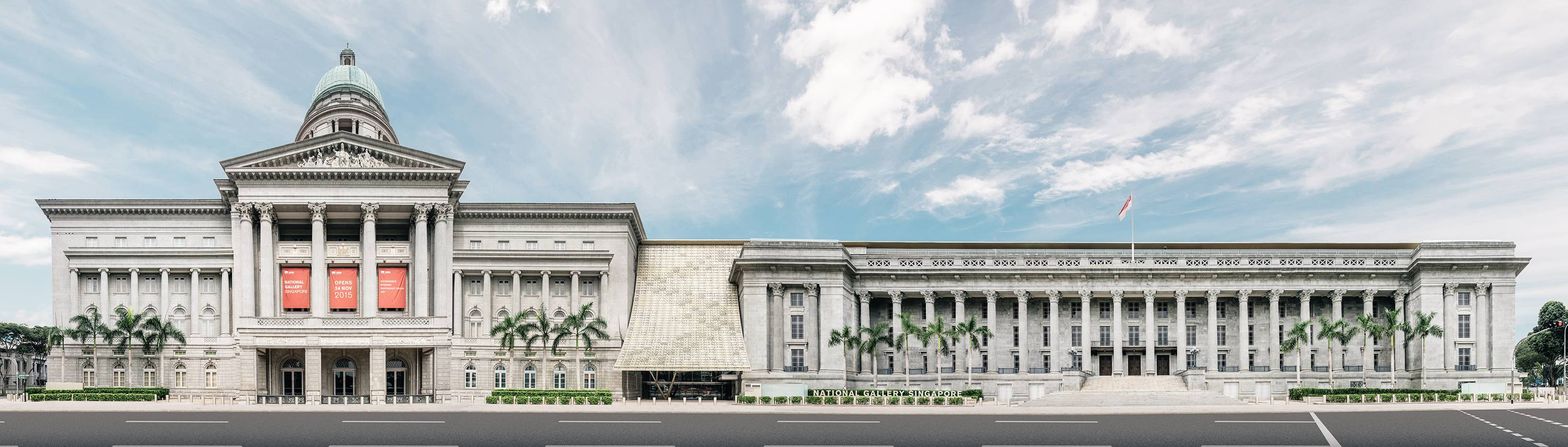 National Gallery Singapore - Monuments of Singapore