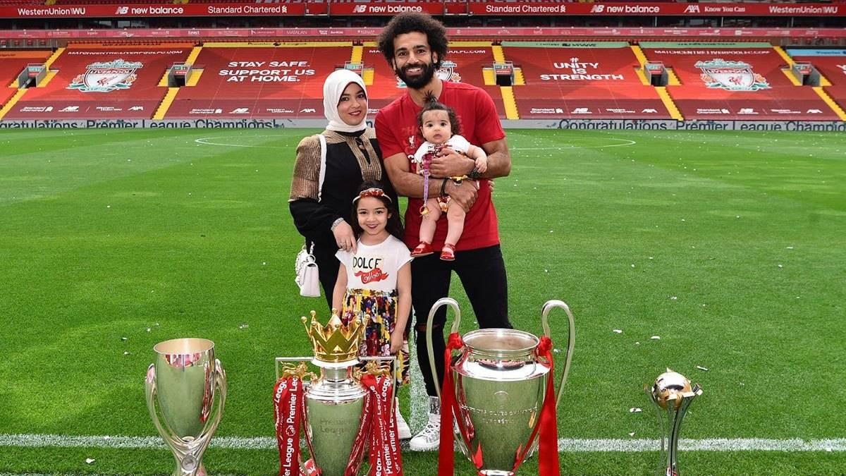 Mohamed Salah Liverpool Family Egypt