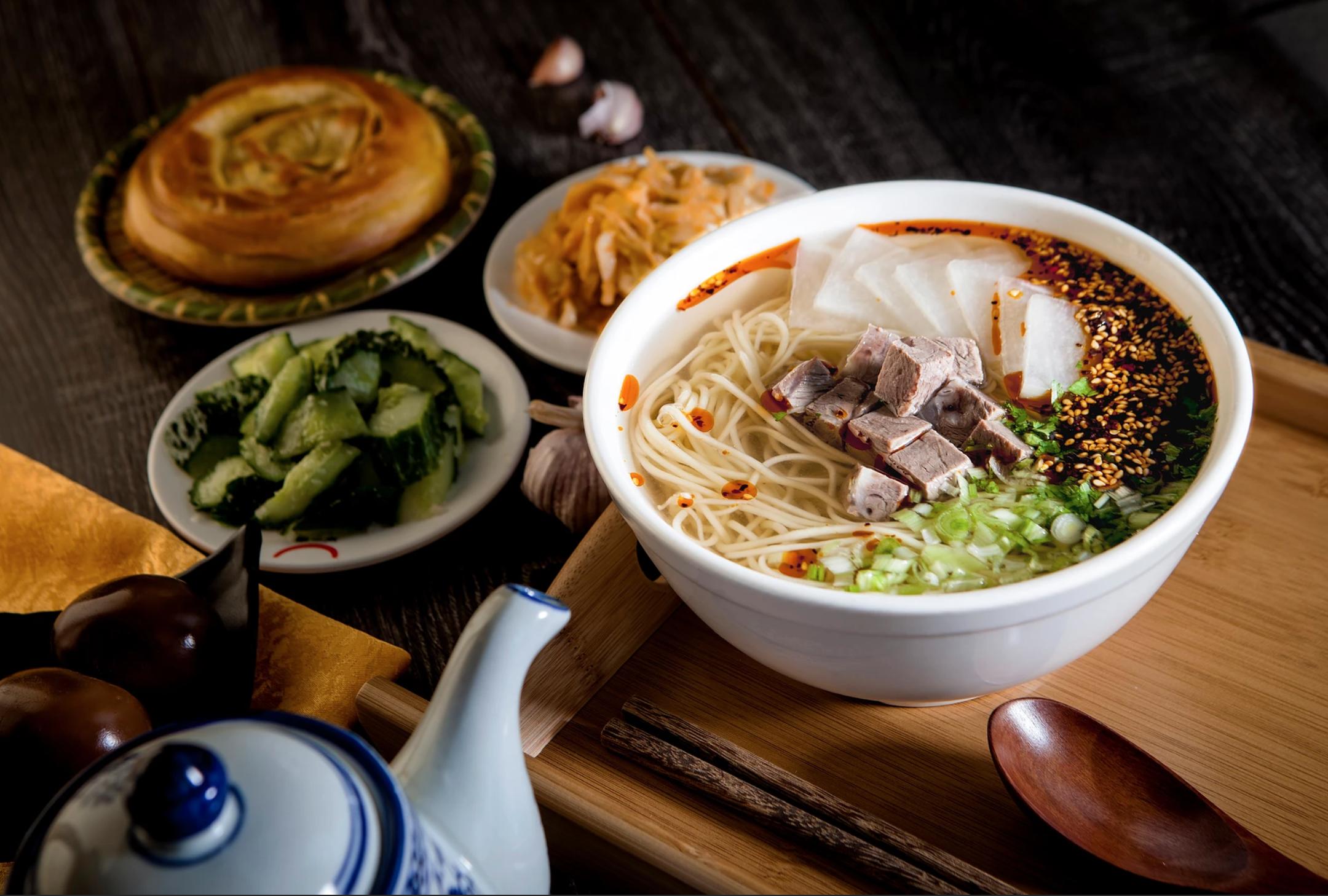 Nuodle Lanzhou Halal Beef Noodle