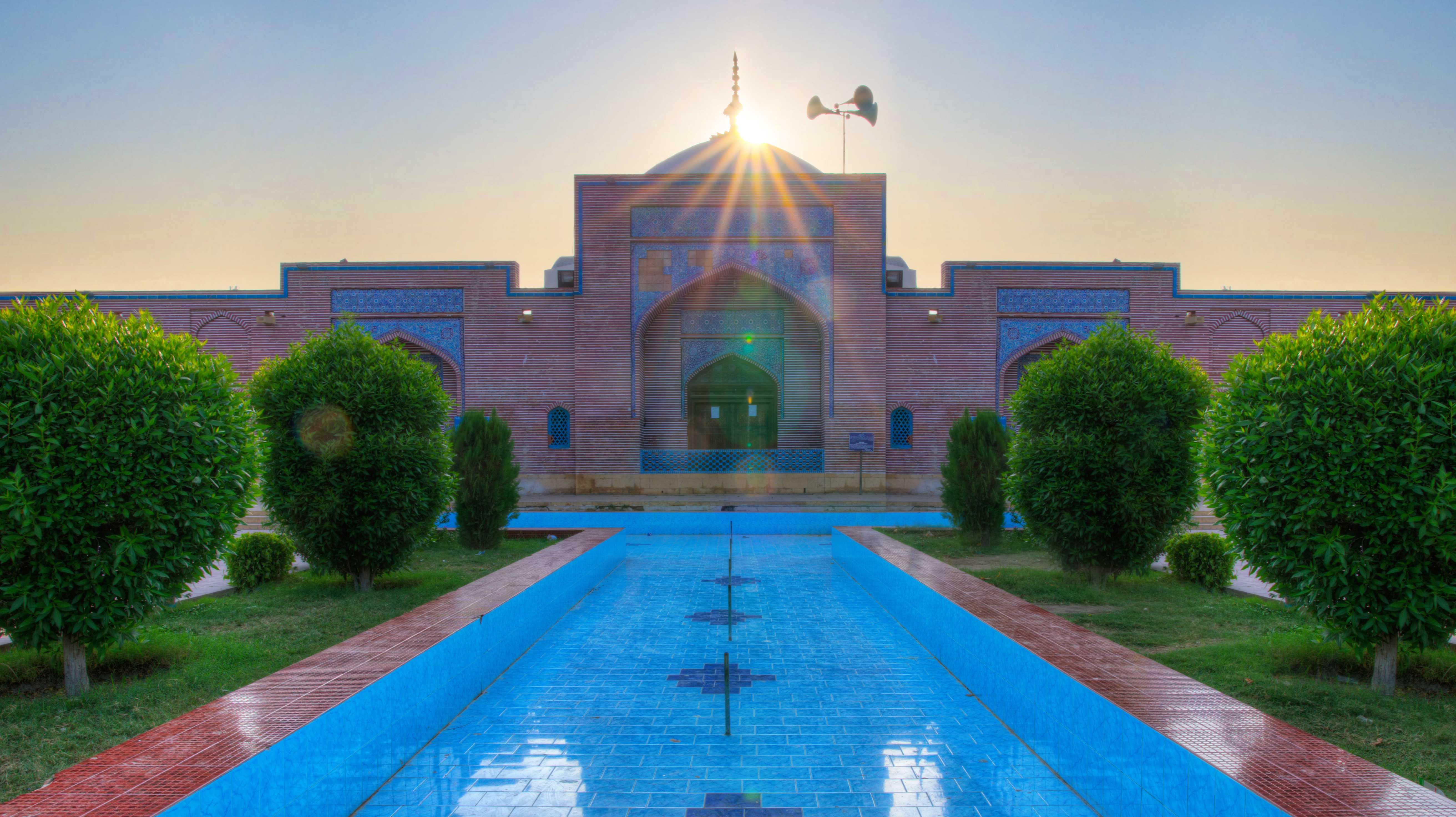 Shah Jahan Mosque Thatta Sindh Pakistan
