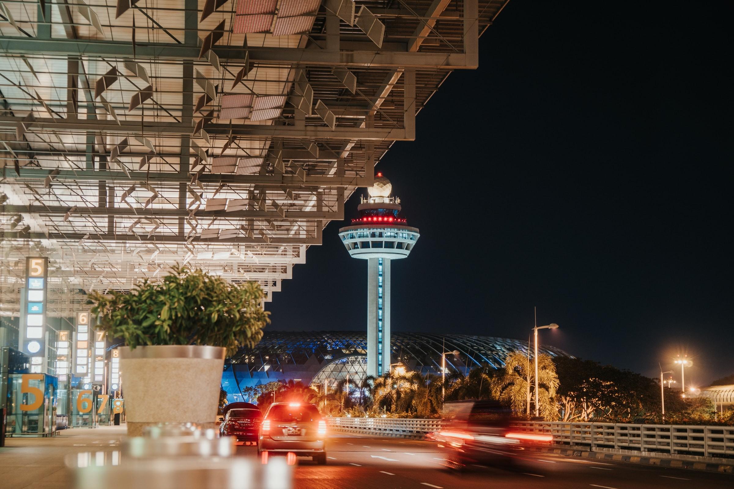 Changi Airport Singapore Segregated Travel Lane
