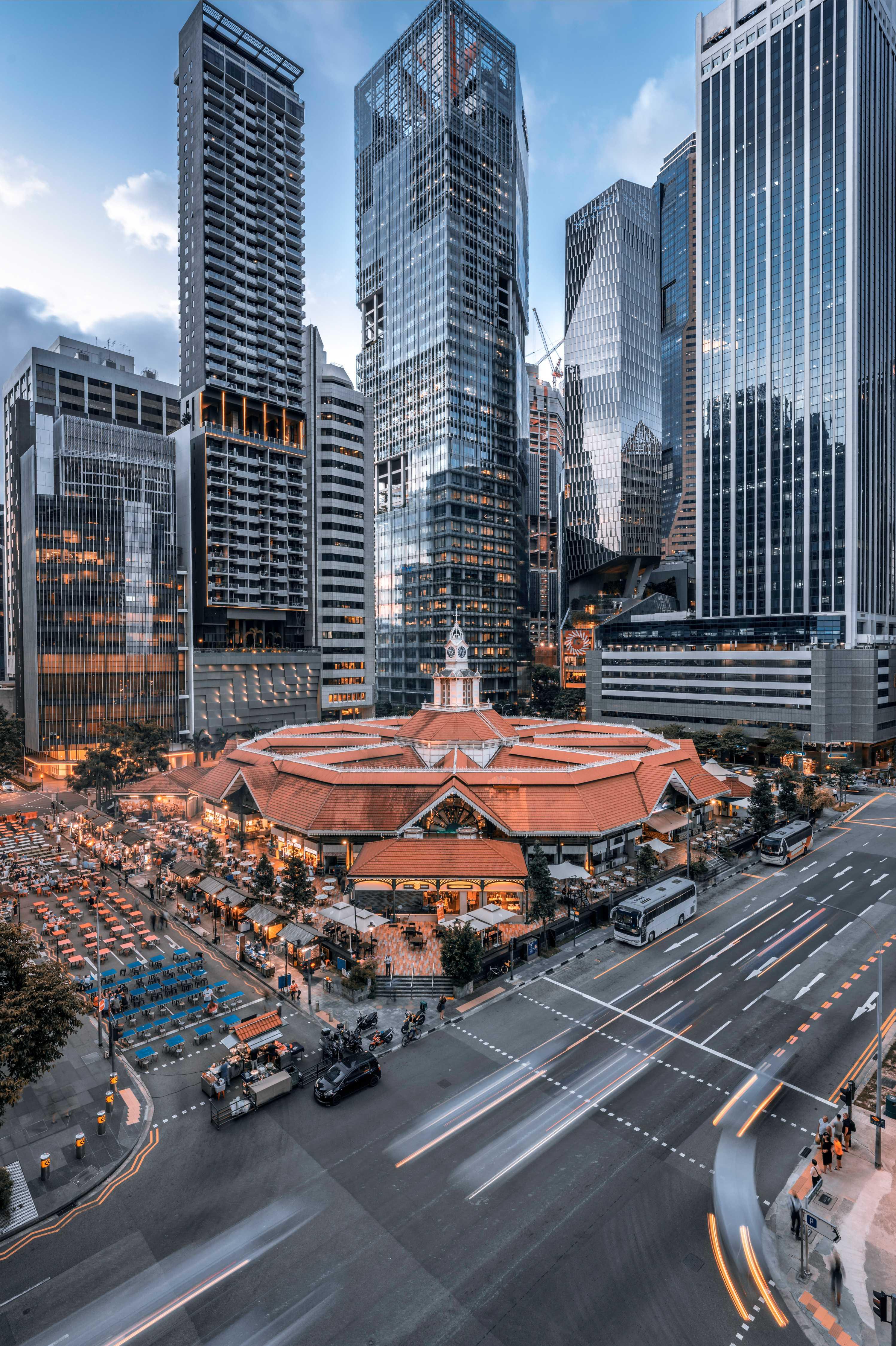 Lau Pa Sat Singapore Hawker Centre