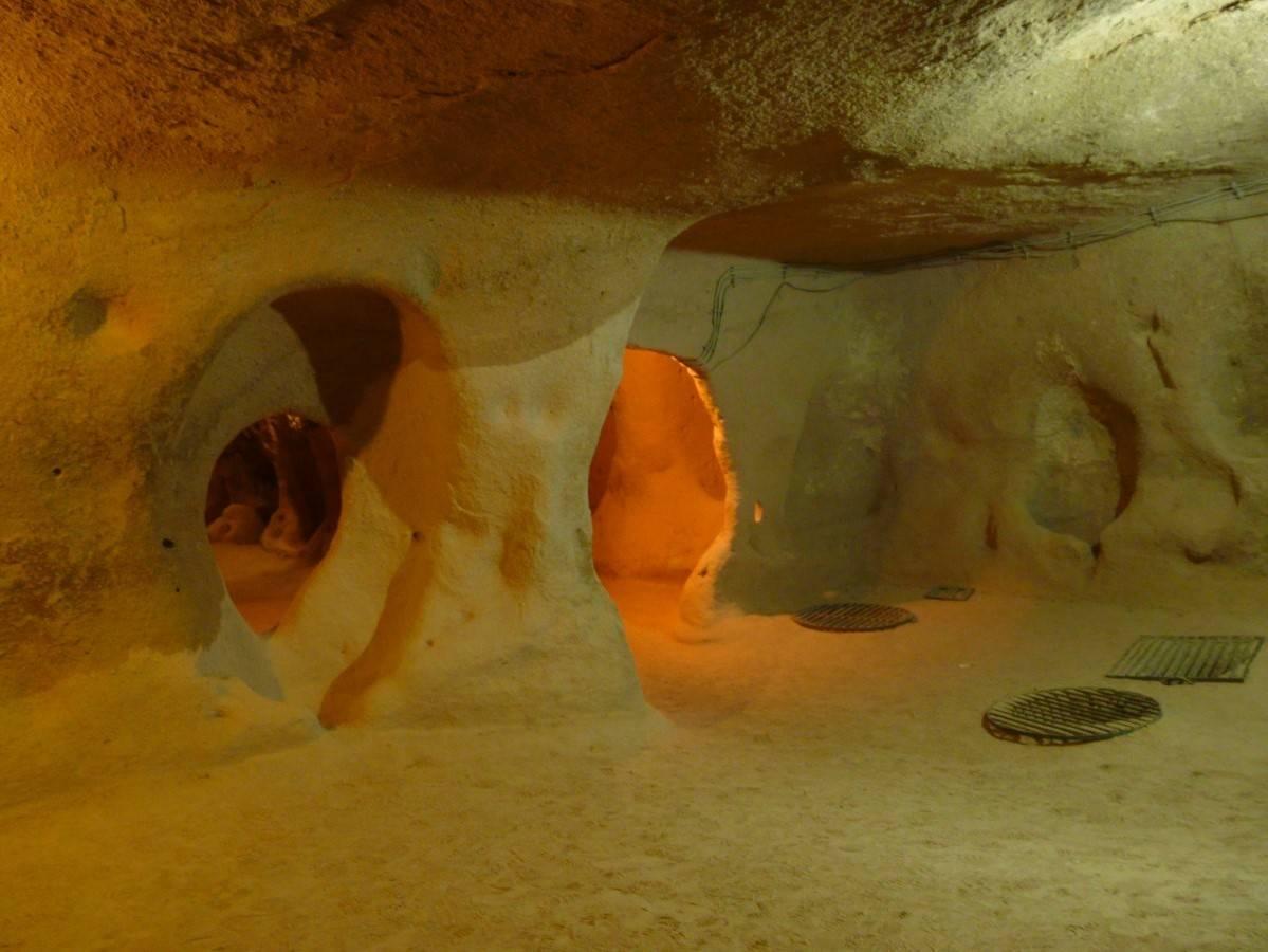 Yer Alti Şehri Kapadokya Turkiye